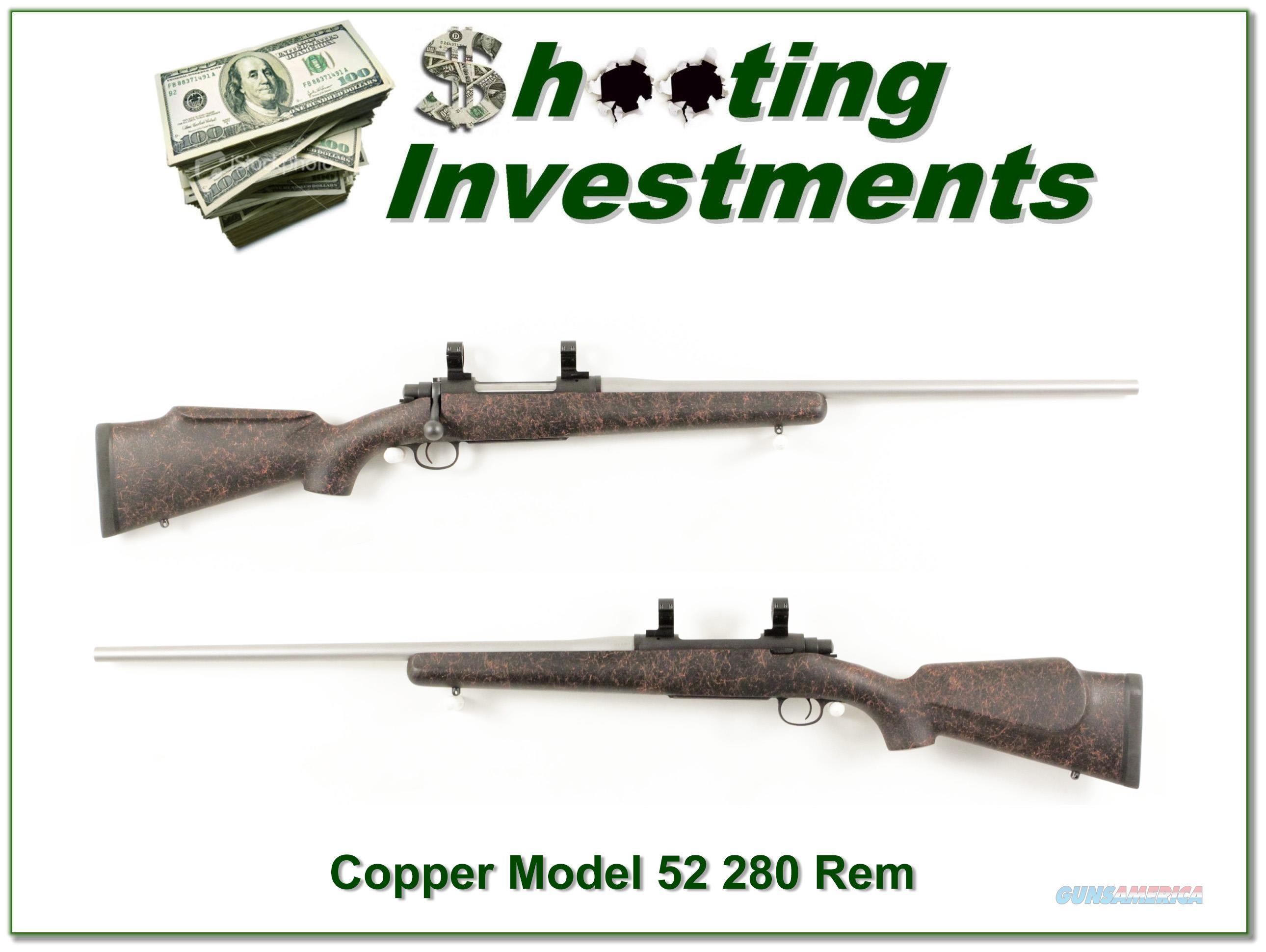 Cooper Model 52 Jackson in 280 Rem Medium Stainless barrel  Guns > Rifles > Cooper Arms Rifles