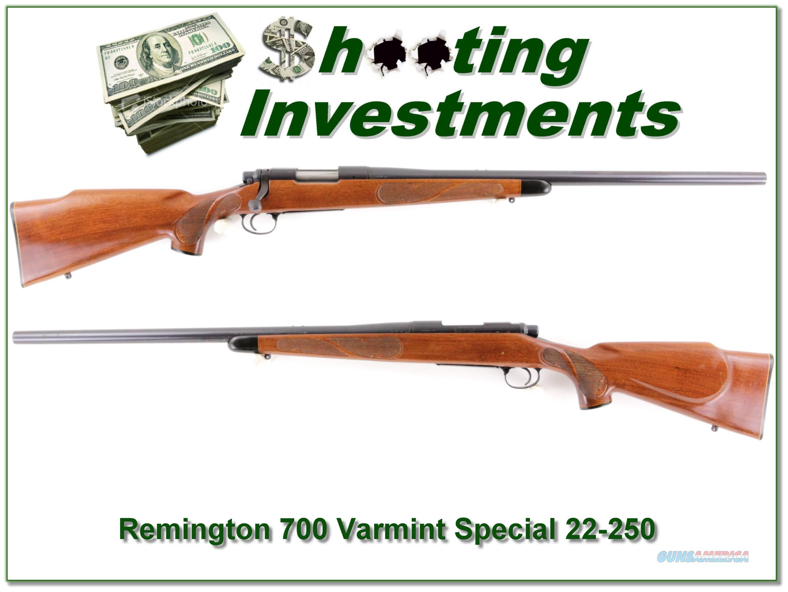Remington 700 Varmint Special 22-250 Remington  Guns > Rifles > Remington Rifles - Modern > Model 700 > Sporting