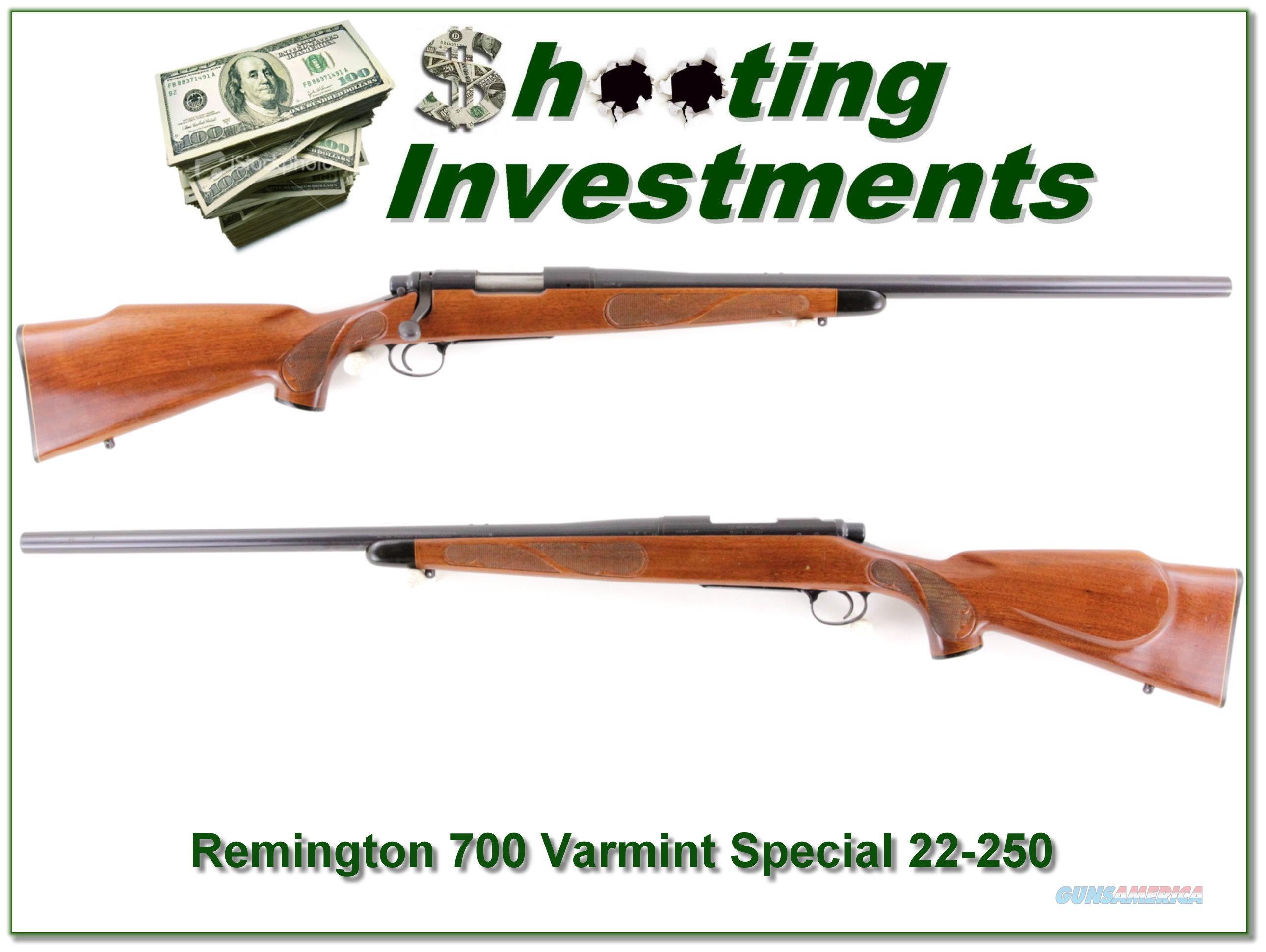 Remington 700 Varmint Special 22-250 Remington  Guns > Rifles > Remington Rifles - Modern > Model 700 > Sporting