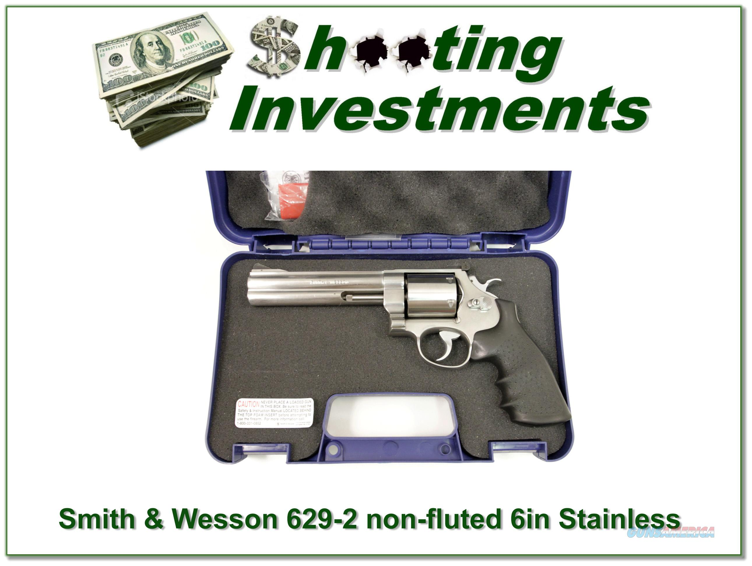 Smith & Wesson 629 629-2 non-fluted as new!  Guns > Pistols > Smith & Wesson Revolvers > Model 629