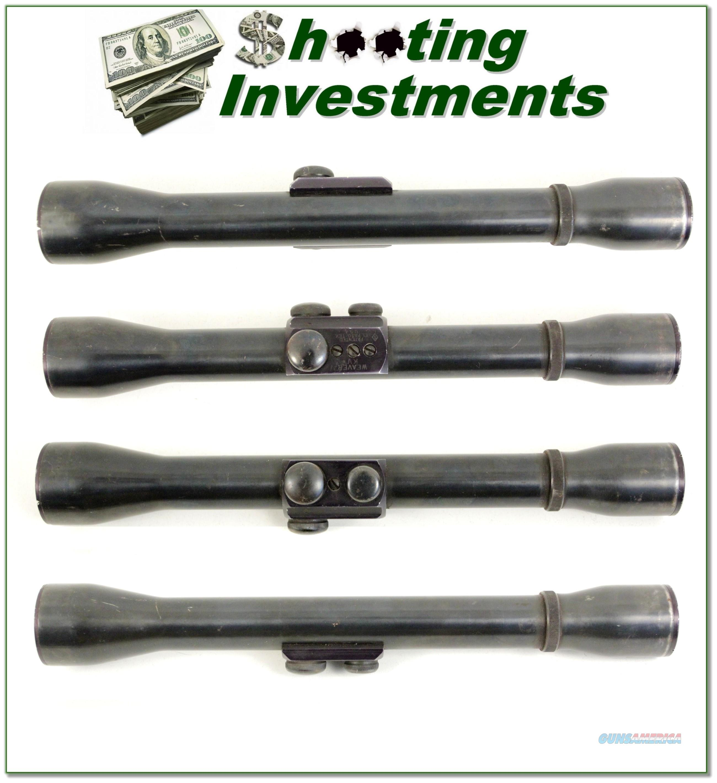 Vintage Weaver KV 2 34/ - 5 Power early El Paso cope  Non-Guns > Scopes/Mounts/Rings & Optics > Rifle Scopes > Variable Focal Length