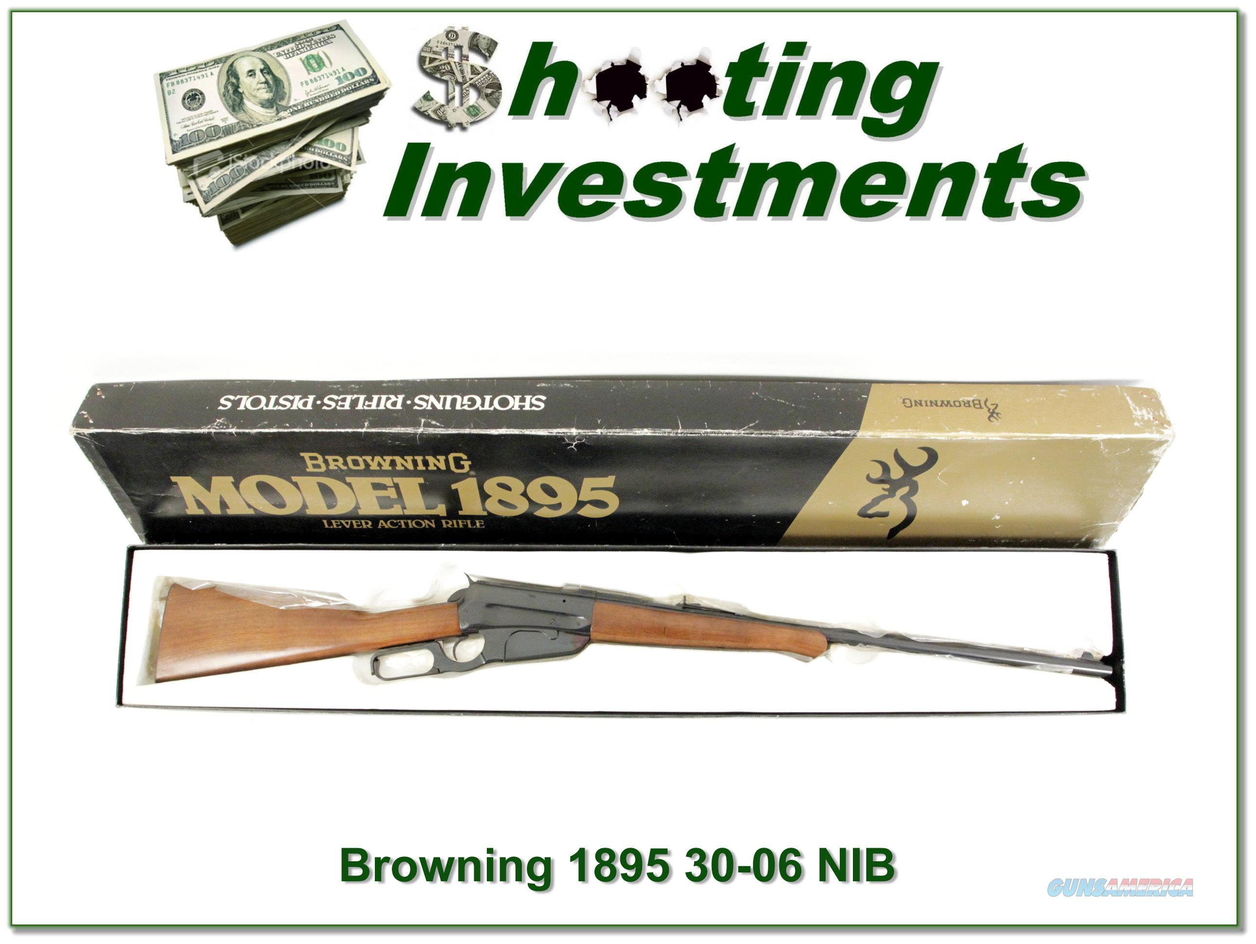 Browning 1895 30-06 Level New in Box!   Guns > Rifles > Browning Rifles > Lever Action