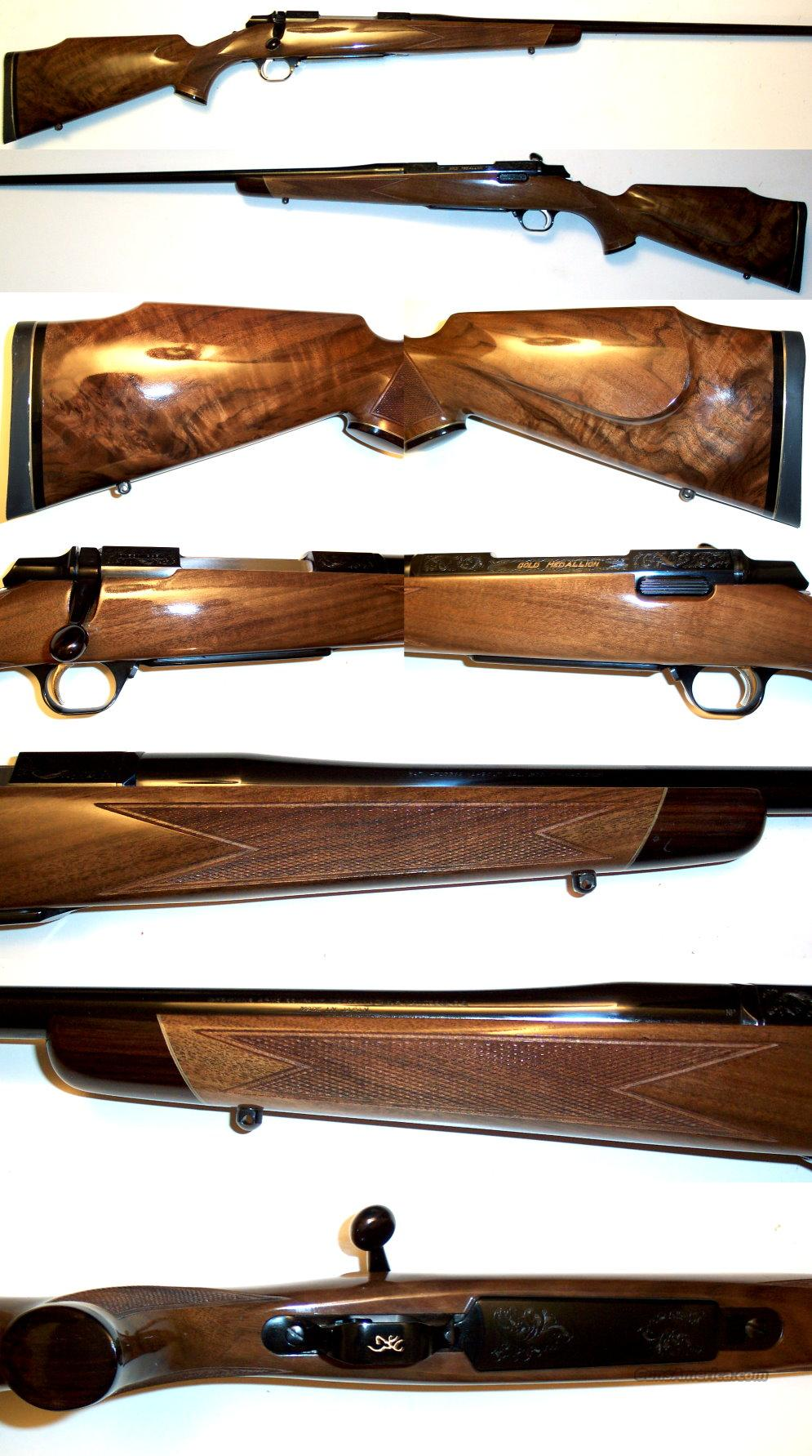 Browning Gold Medallion 300 Win as new  Guns > Rifles > Browning Rifles > Bolt Action > Hunting > Blue