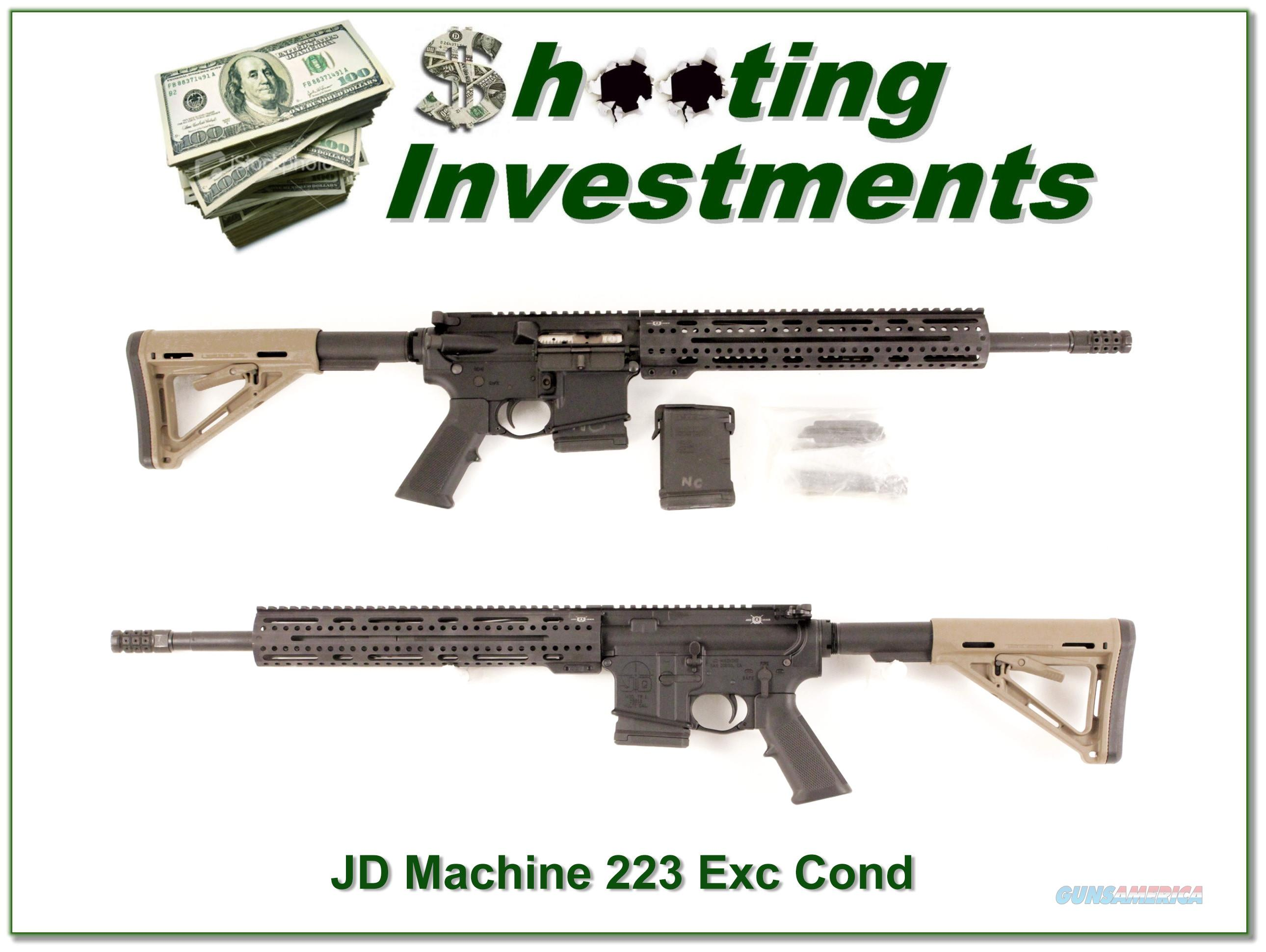 JD Machine TR 1 with 223 Ares Armor upper AR-15  Guns > Rifles > IJ Misc Rifles