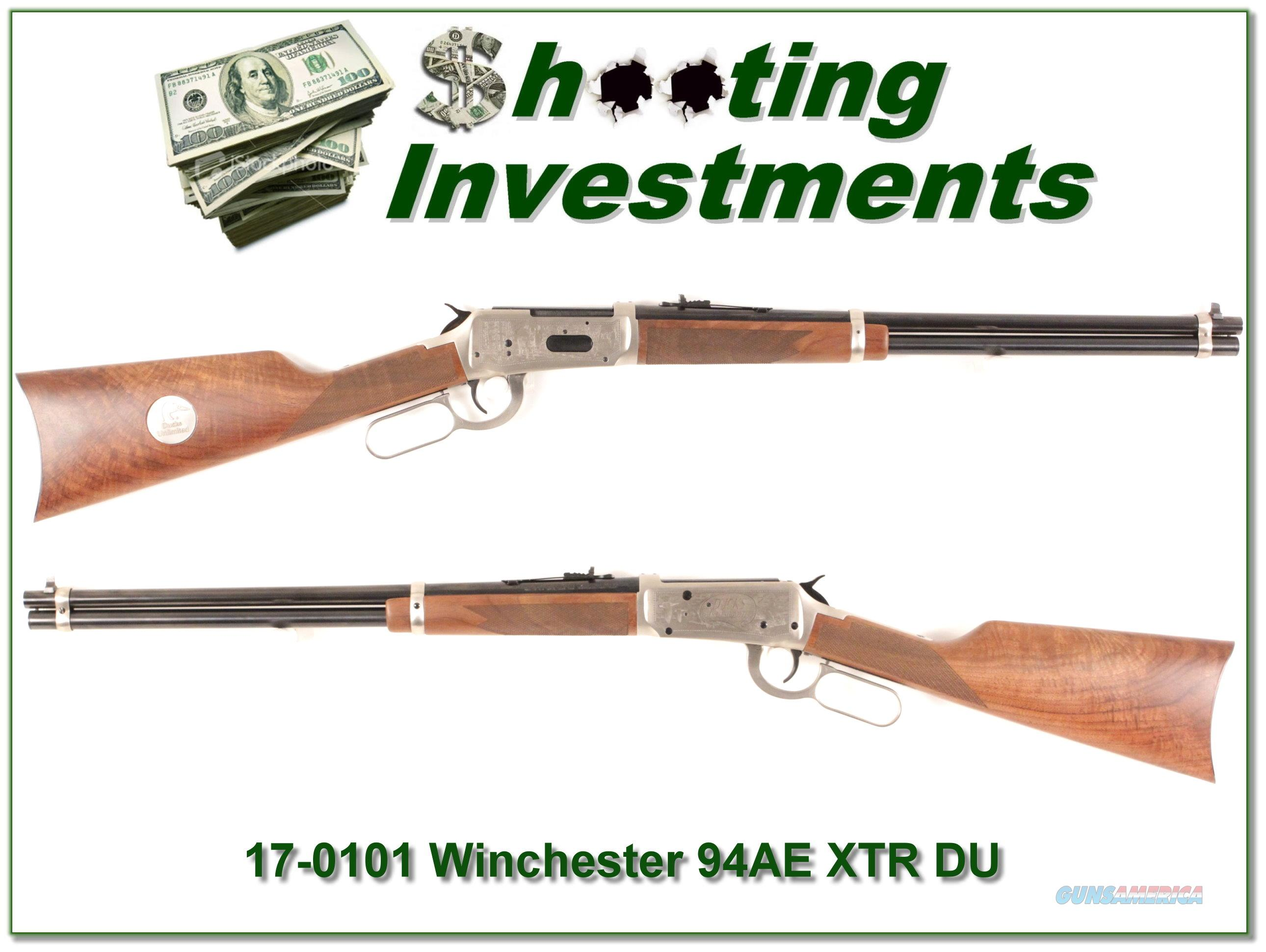 Winchester 94 94AE XTR 30-30 Duck Unlimited as new  Guns > Rifles > Winchester Rifles - Modern Lever > Model 94 > Post-64