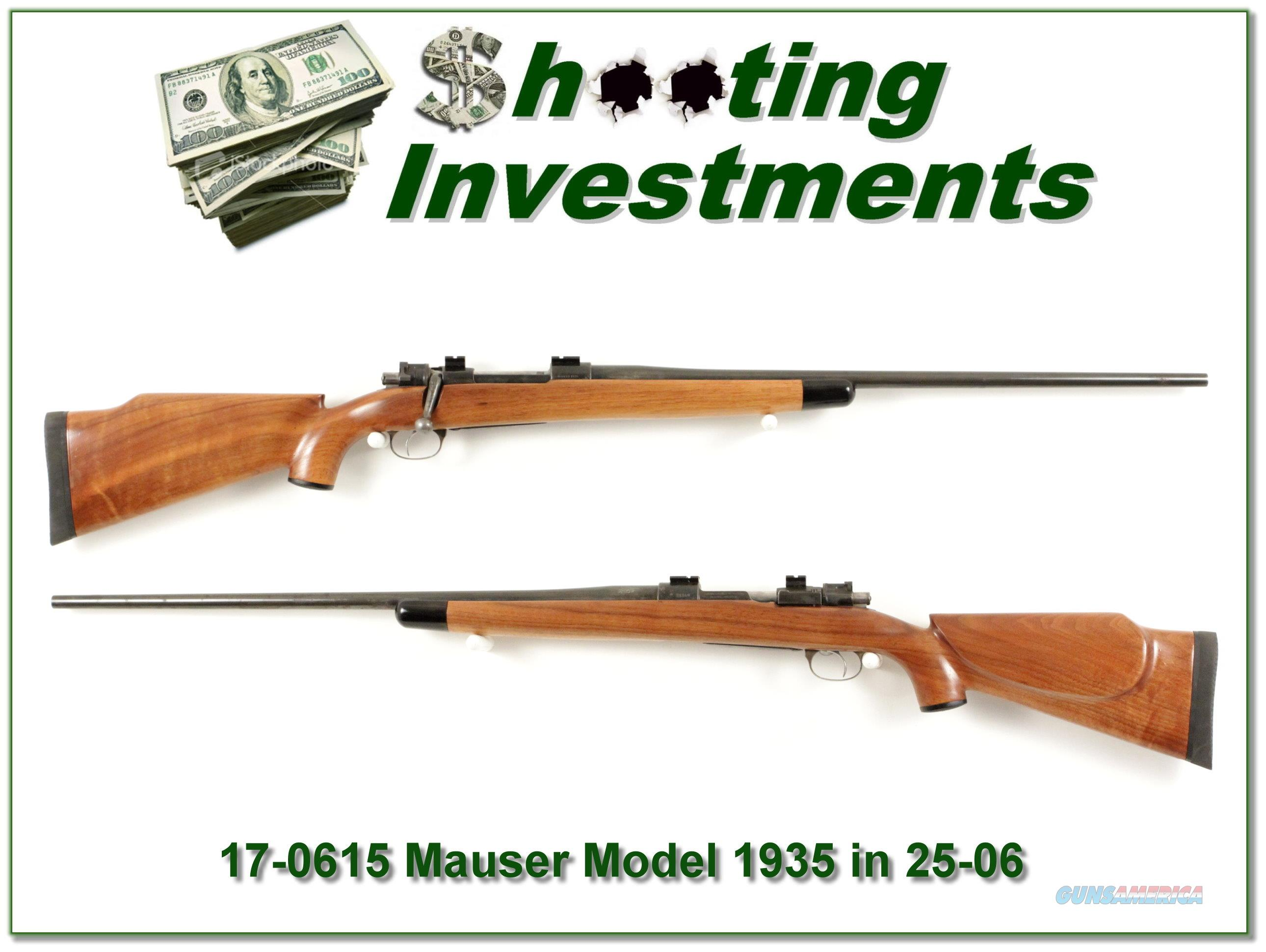 FN Mauser in 25-06  Guns > Rifles > FNH - Fabrique Nationale (FN) Rifles > Bolt action > Hunting