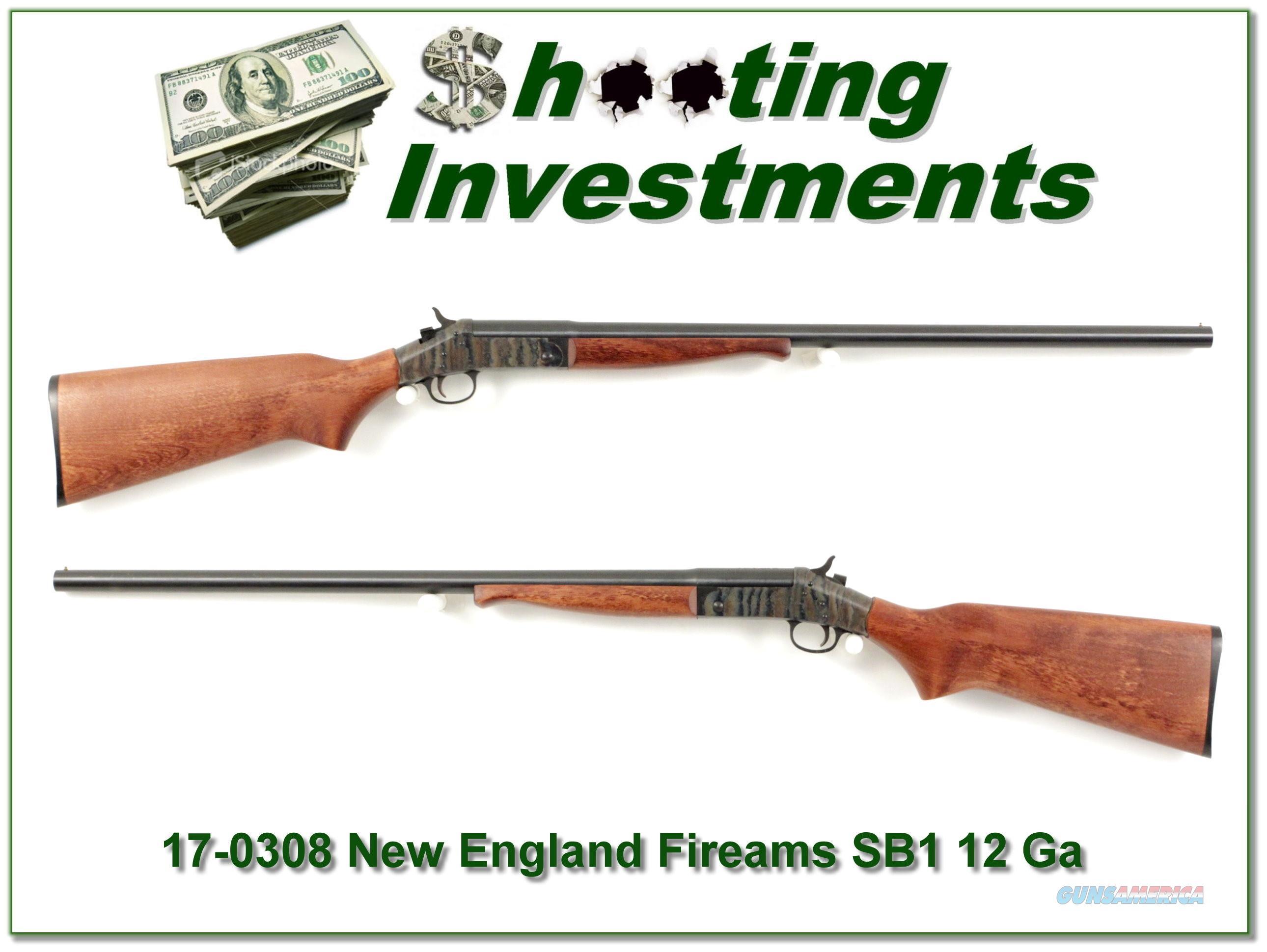 New England Firearms Partner SB1 12 Ga 3in 28in Mod  Guns > Shotguns > New England Firearms (NEF) Shotguns