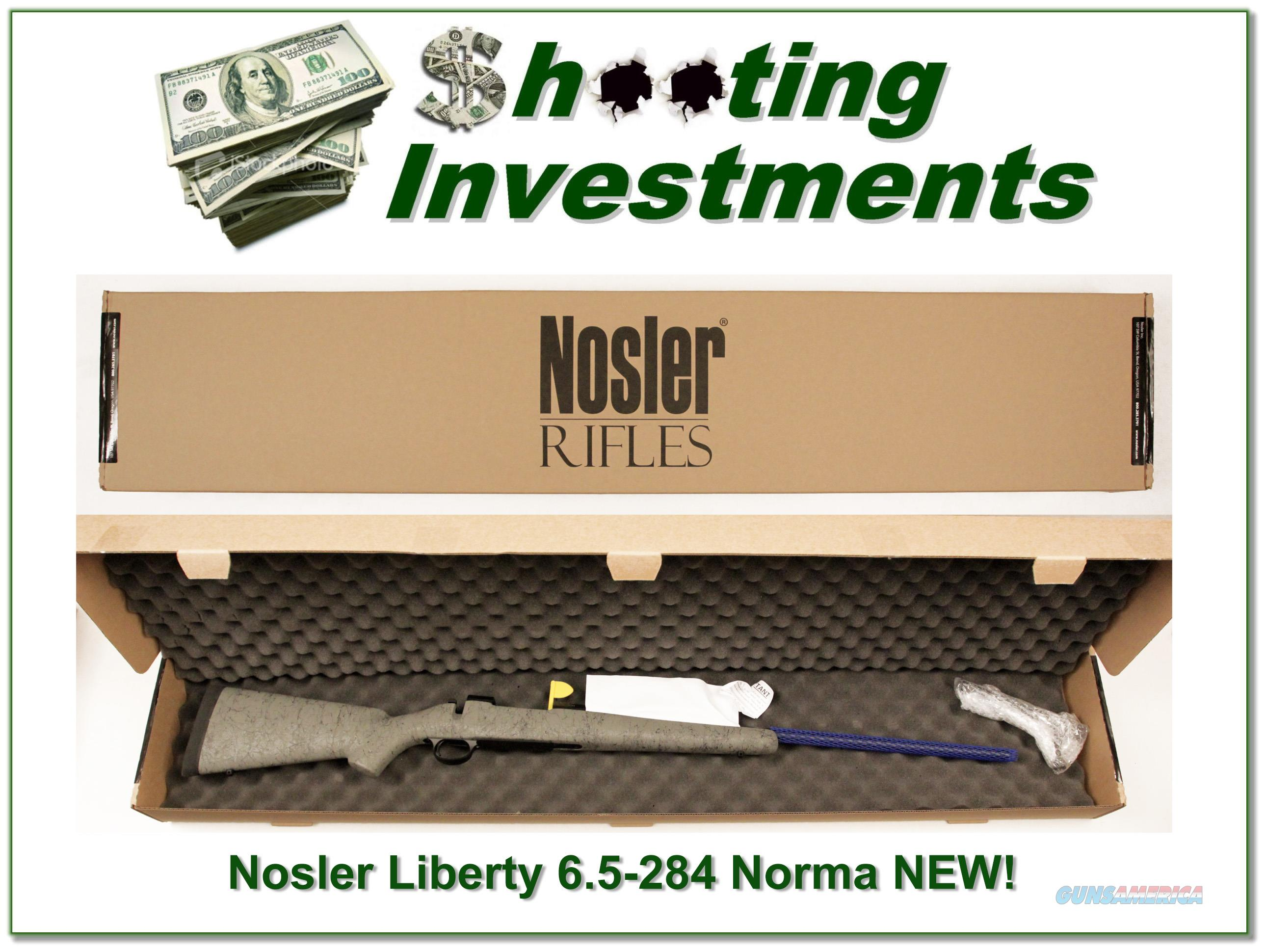 Nosler M48 Liberty 6.5-284 Norma!  Guns > Rifles > MN Misc Rifles