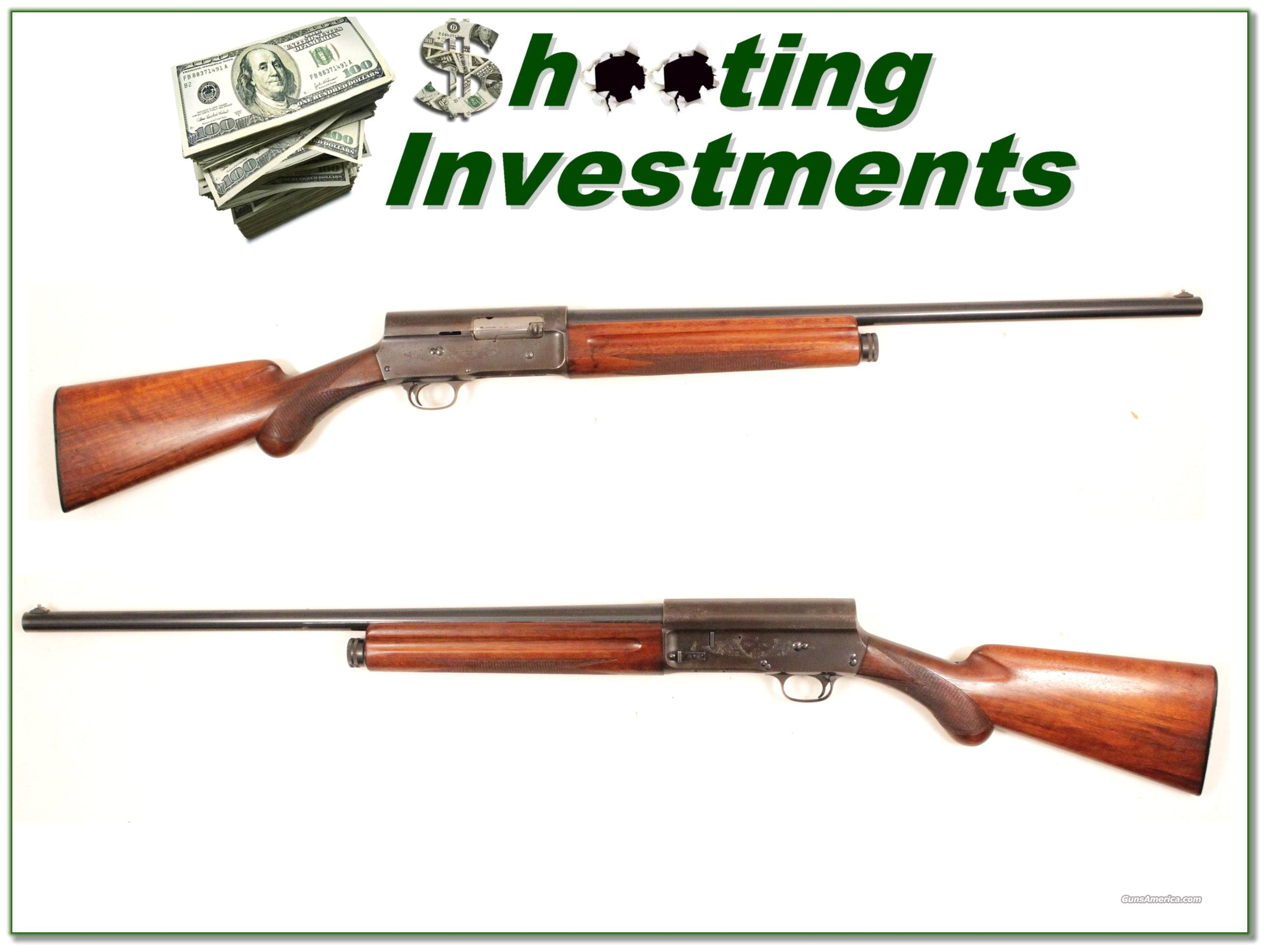 Browning A5 60 Belgium 12 ga 26in IC  Guns > Shotguns > Browning Shotguns > Autoloaders > Hunting