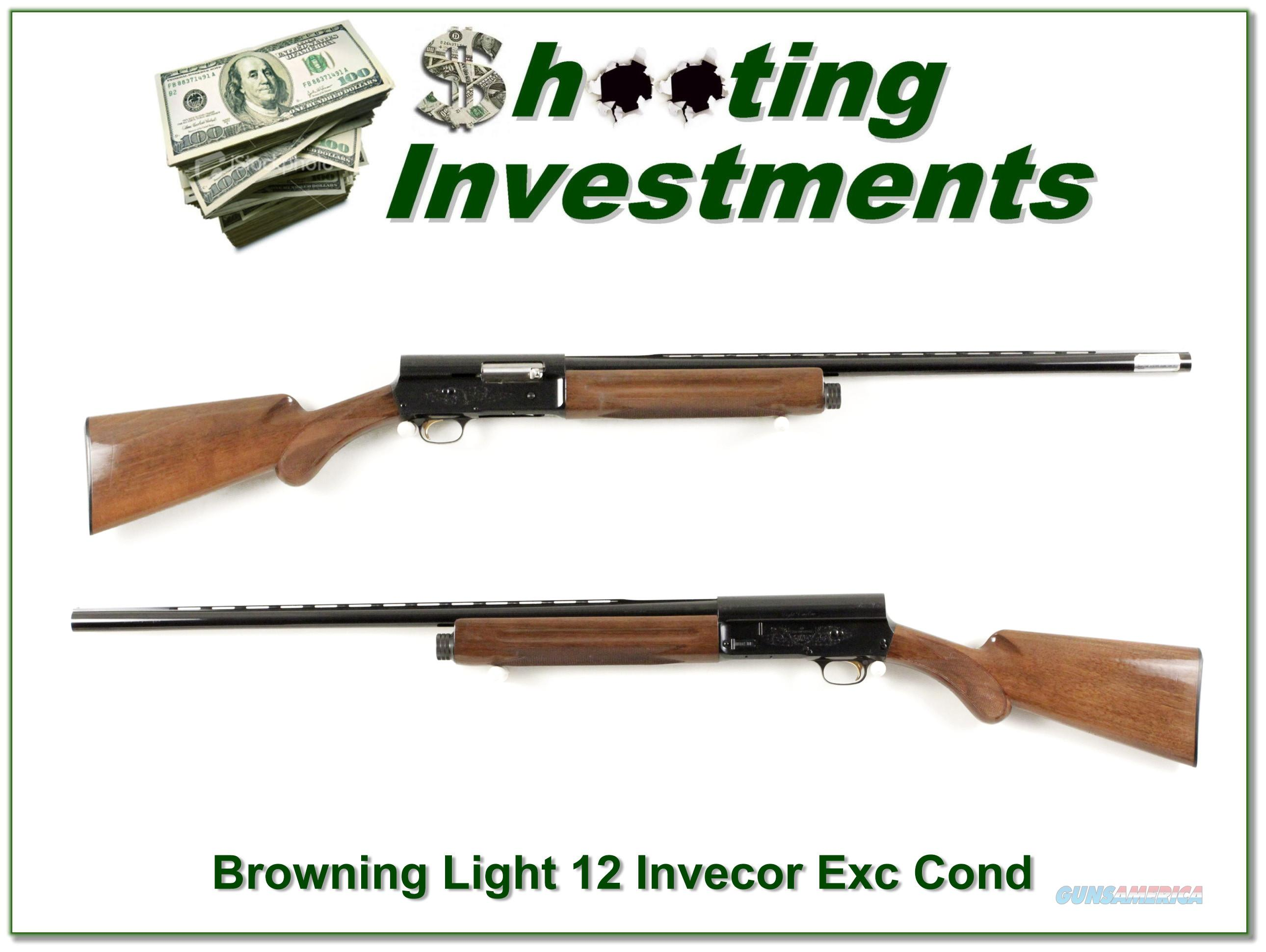 Browning A5 Light 12 28in Invector Plus looks unfired  Guns > Shotguns > Browning Shotguns > Autoloaders > Hunting