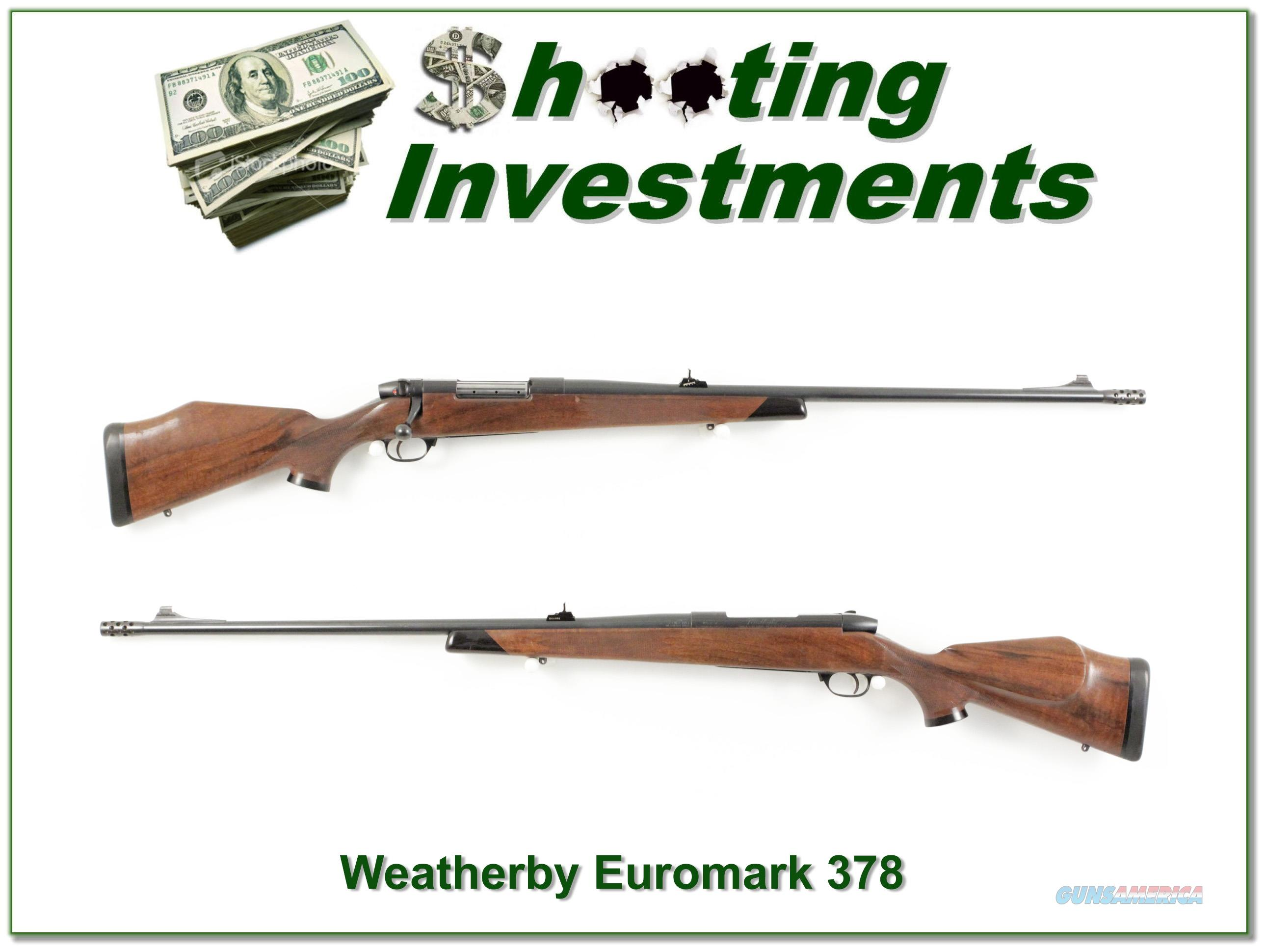 Weatherby Mark V Euromark 378 Wthy Mag!  Guns > Rifles > Weatherby Rifles > Sporting