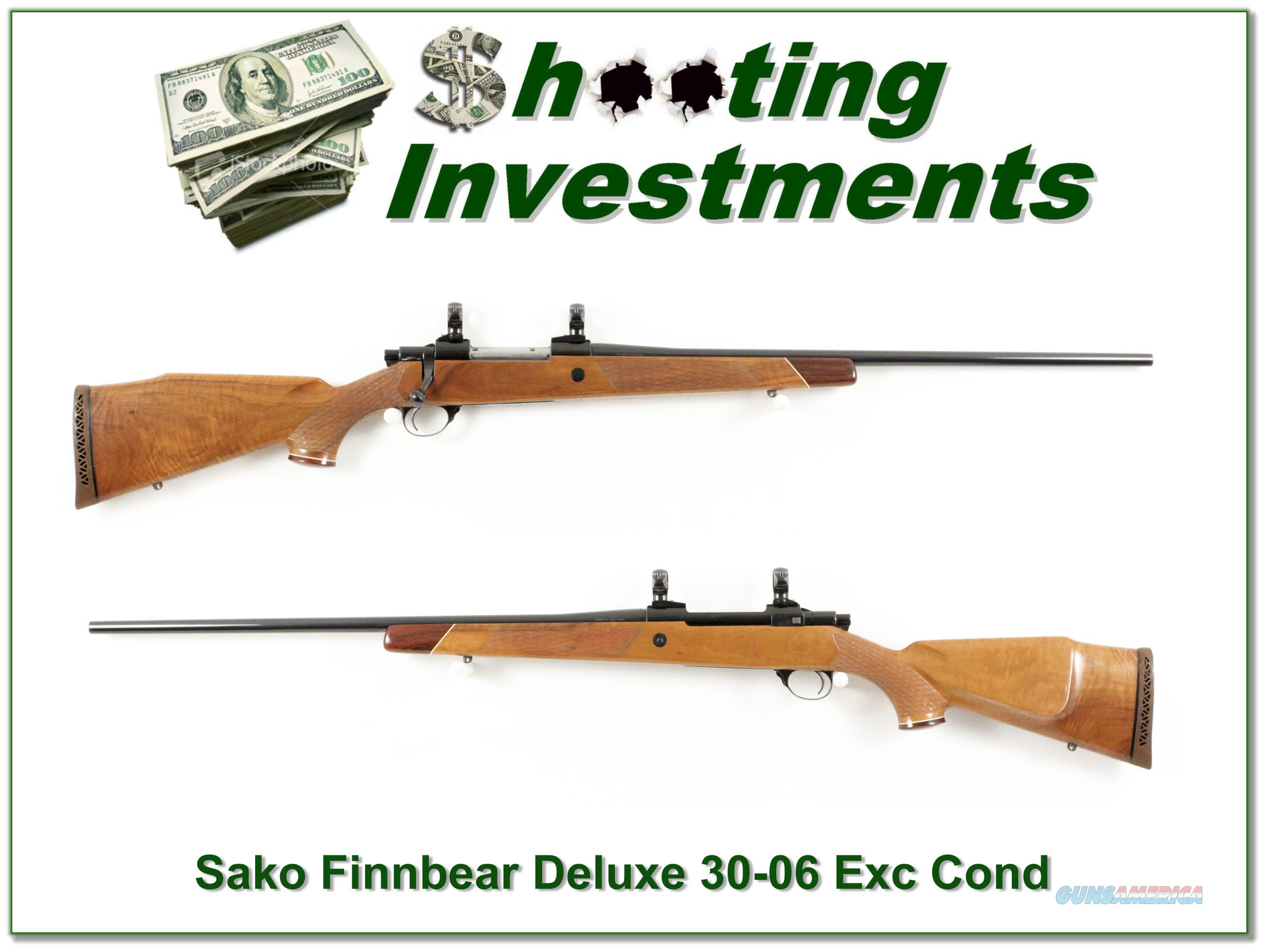 Sako L61R Finnbear Deluxe in 30-06  Guns > Rifles > Sako Rifles > Other Bolt Action