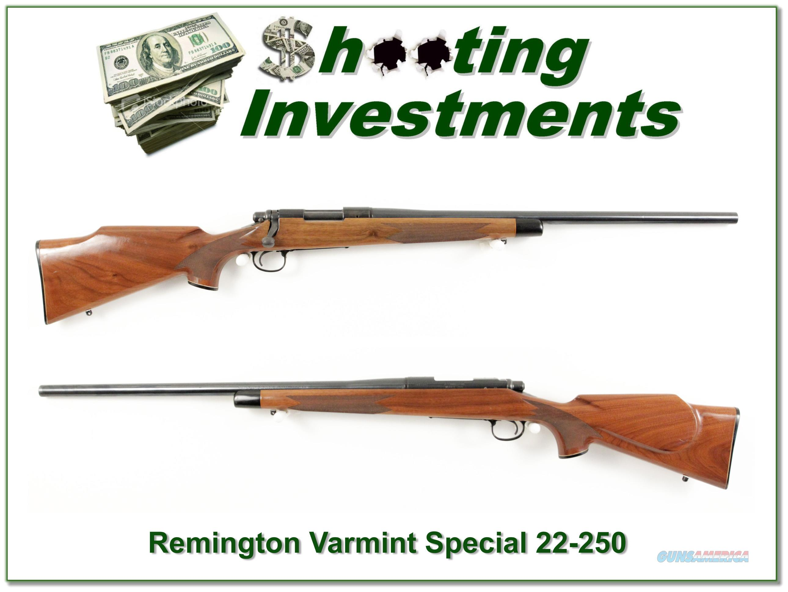 Remington 700 Varmint Special 22-250  Guns > Rifles > Remington Rifles - Modern > Model 700 > Sporting