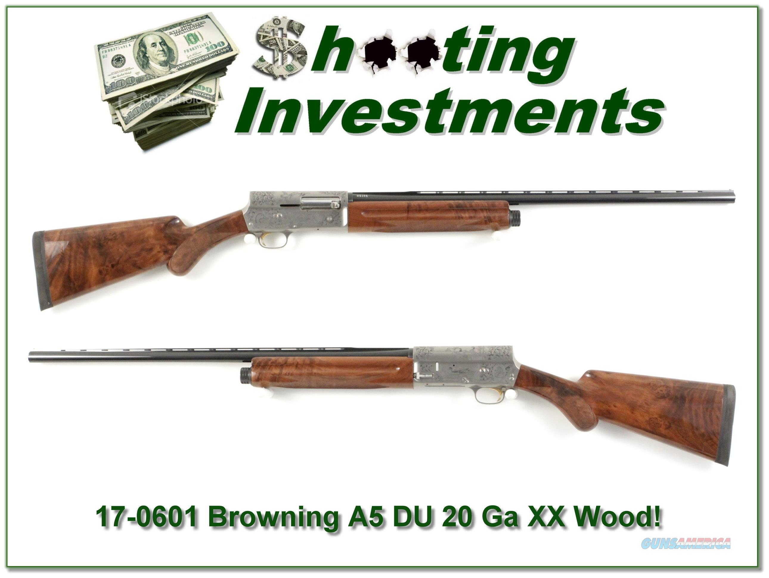 Browning A5 Light 20 1990 DU as new!  Guns > Shotguns > Browning Shotguns > Autoloaders > Hunting