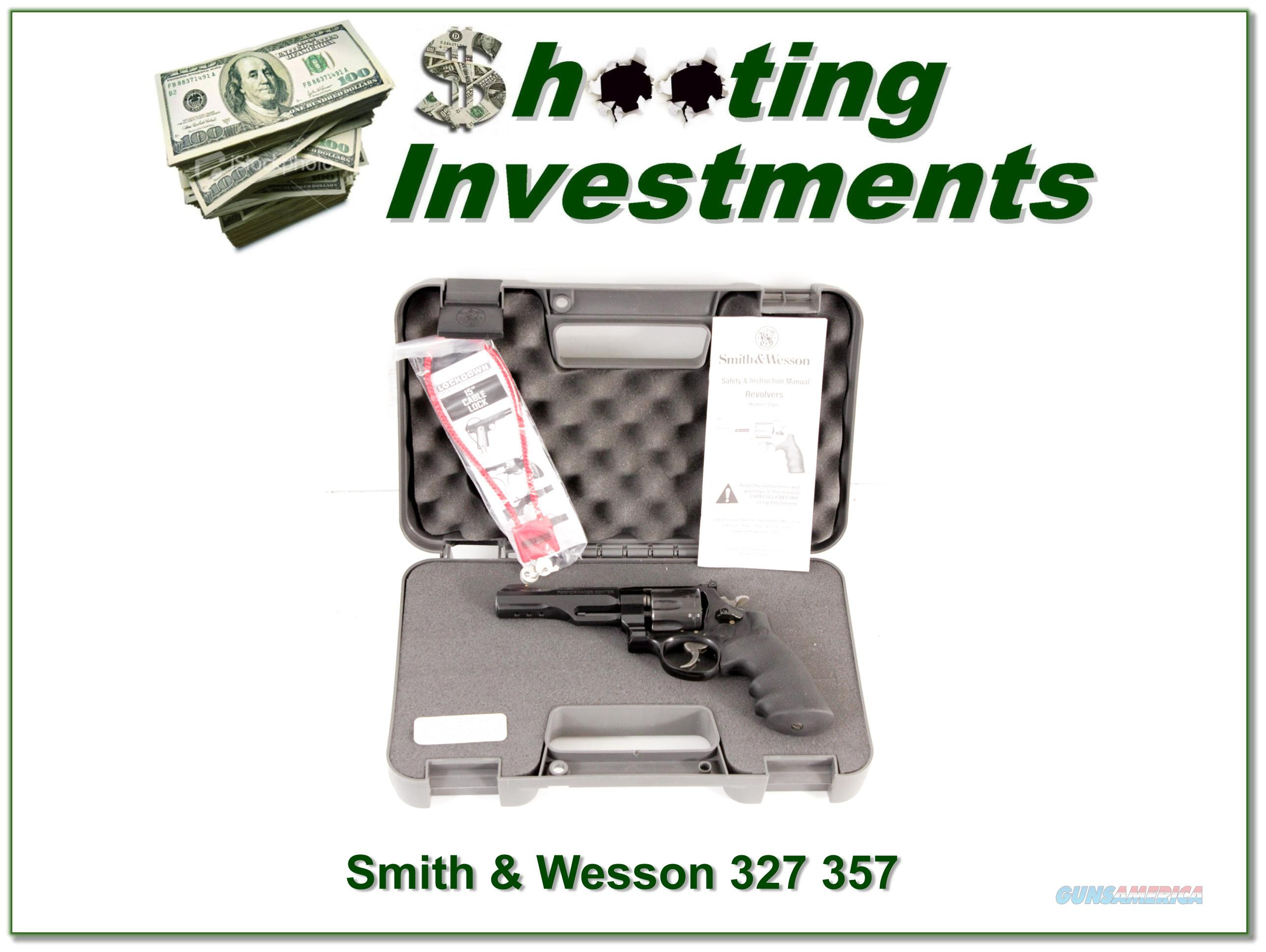 Smith & Wesson 327 in 357 Magnum 4.75 in in case!  Guns > Pistols > Smith & Wesson Revolvers > Full Frame Revolver