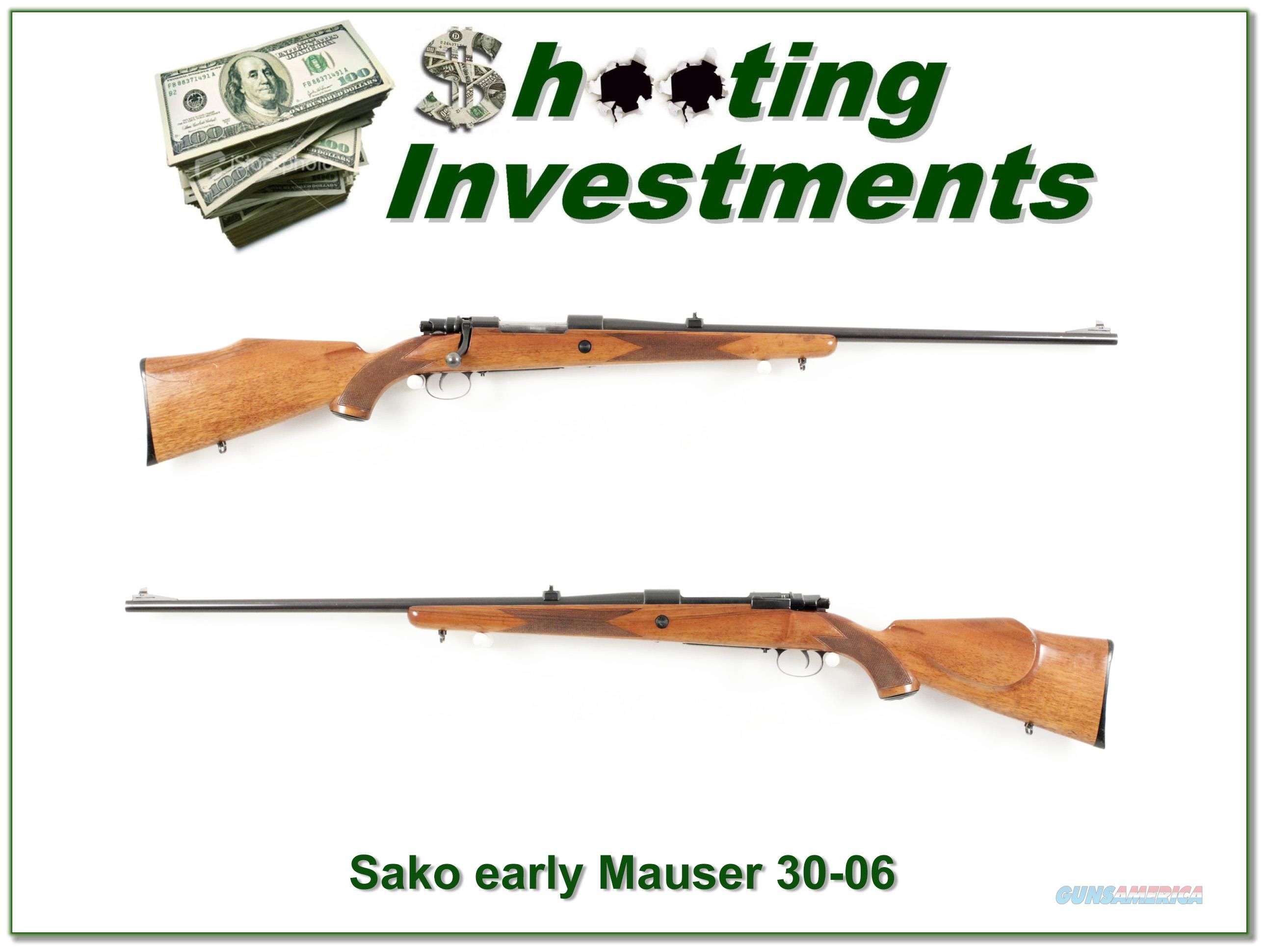 Early Sako Mauser in 30-06   Guns > Rifles > Sako Rifles > Other Bolt Action