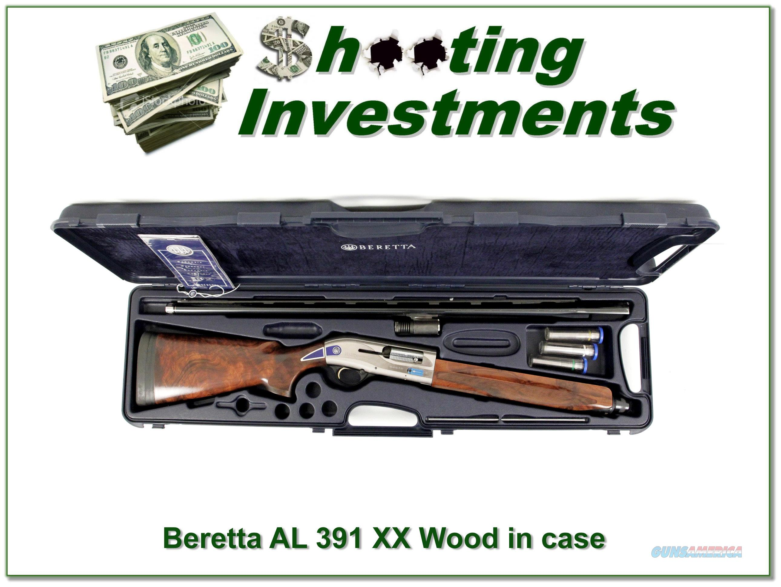 Beretta AL 391 Teknys Gold Custom Shop 12 Gauge 30in XX Wood!  Guns > Shotguns > Beretta Shotguns > Autoloaders > Hunting