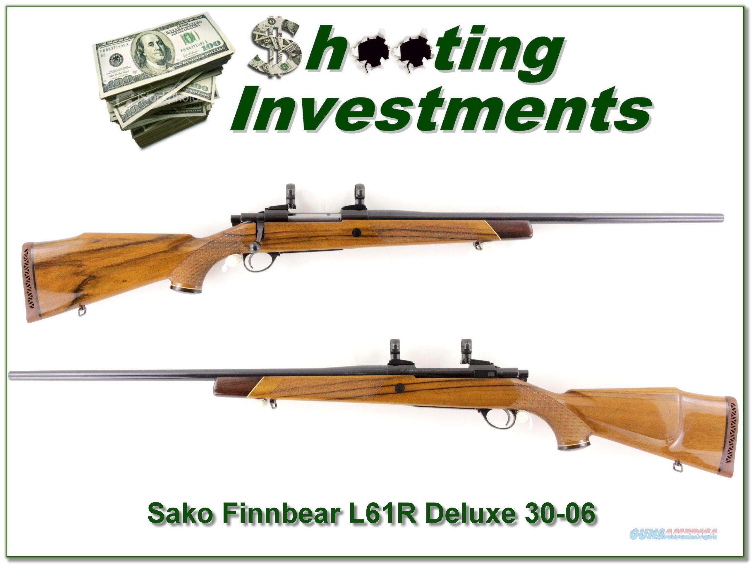 Sako L61R Finnbear Dleuxe 30-06  Guns > Rifles > Sako Rifles > Other Bolt Action