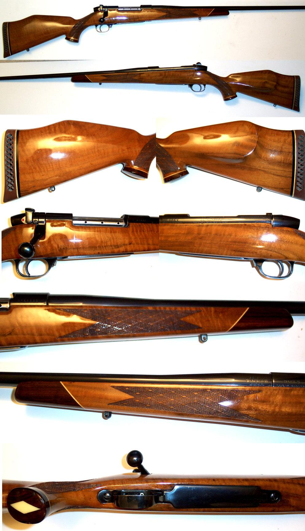 Weatherby Mark V Deluxe 340 Weatherby MAG  Guns > Rifles > Weatherby Rifles > Sporting