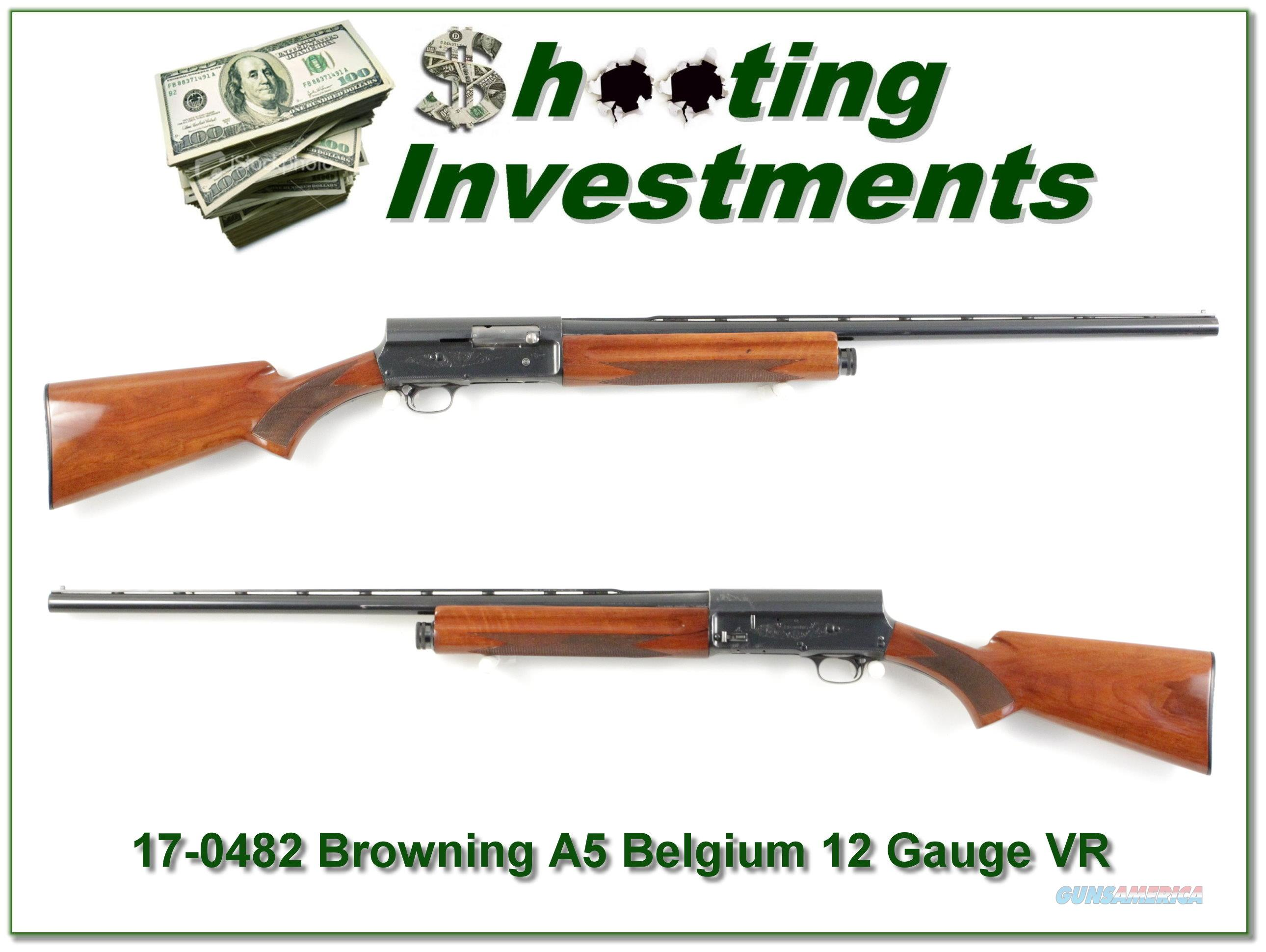 Browning A5 12 Ga 28in Mod VR  Guns > Shotguns > Browning Shotguns > Autoloaders > Hunting