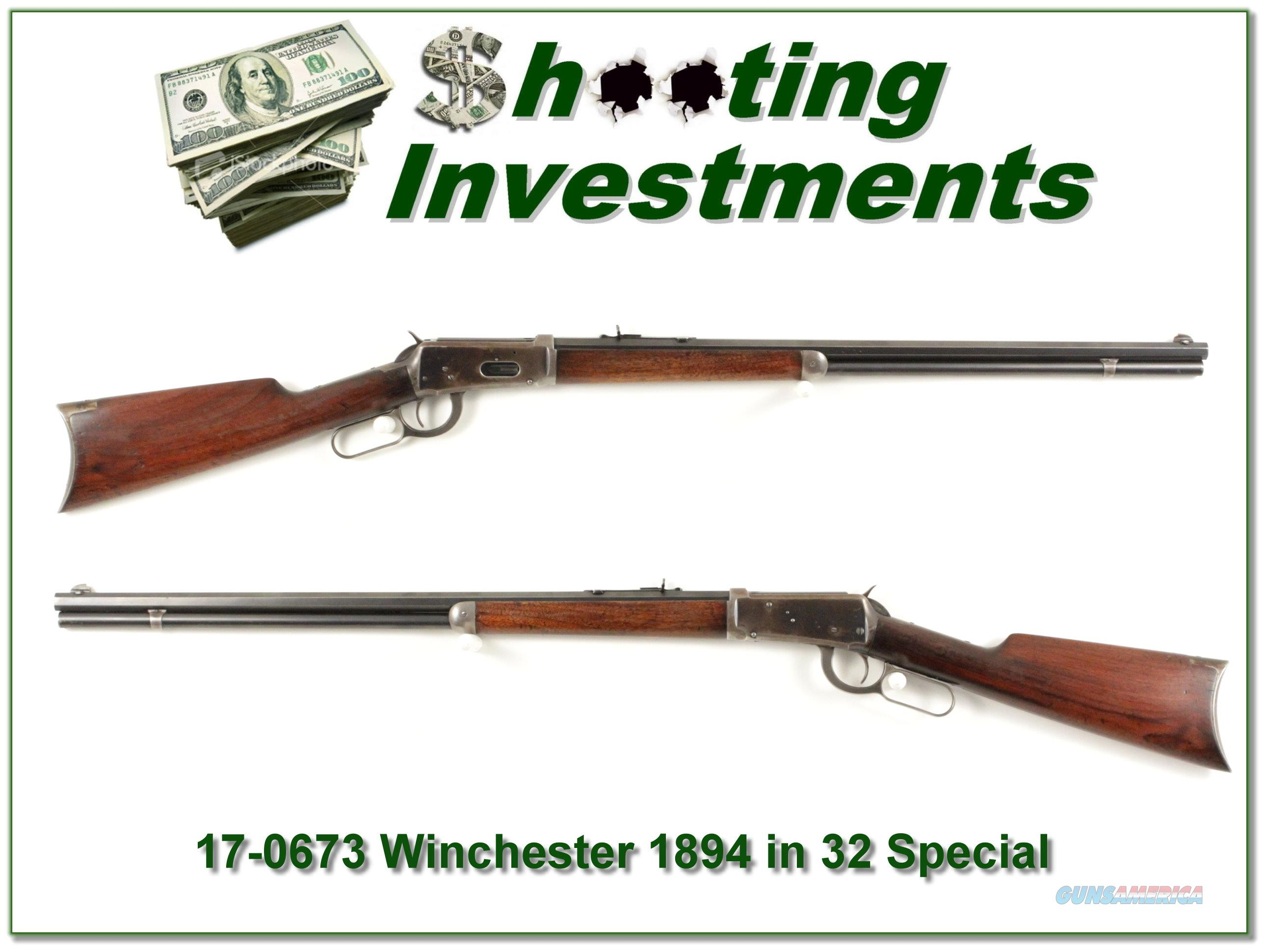 Winchester 1894 hard to find 32 Winchester Special  Guns > Rifles > Winchester Rifles - Modern Lever > Other Lever > Pre-64