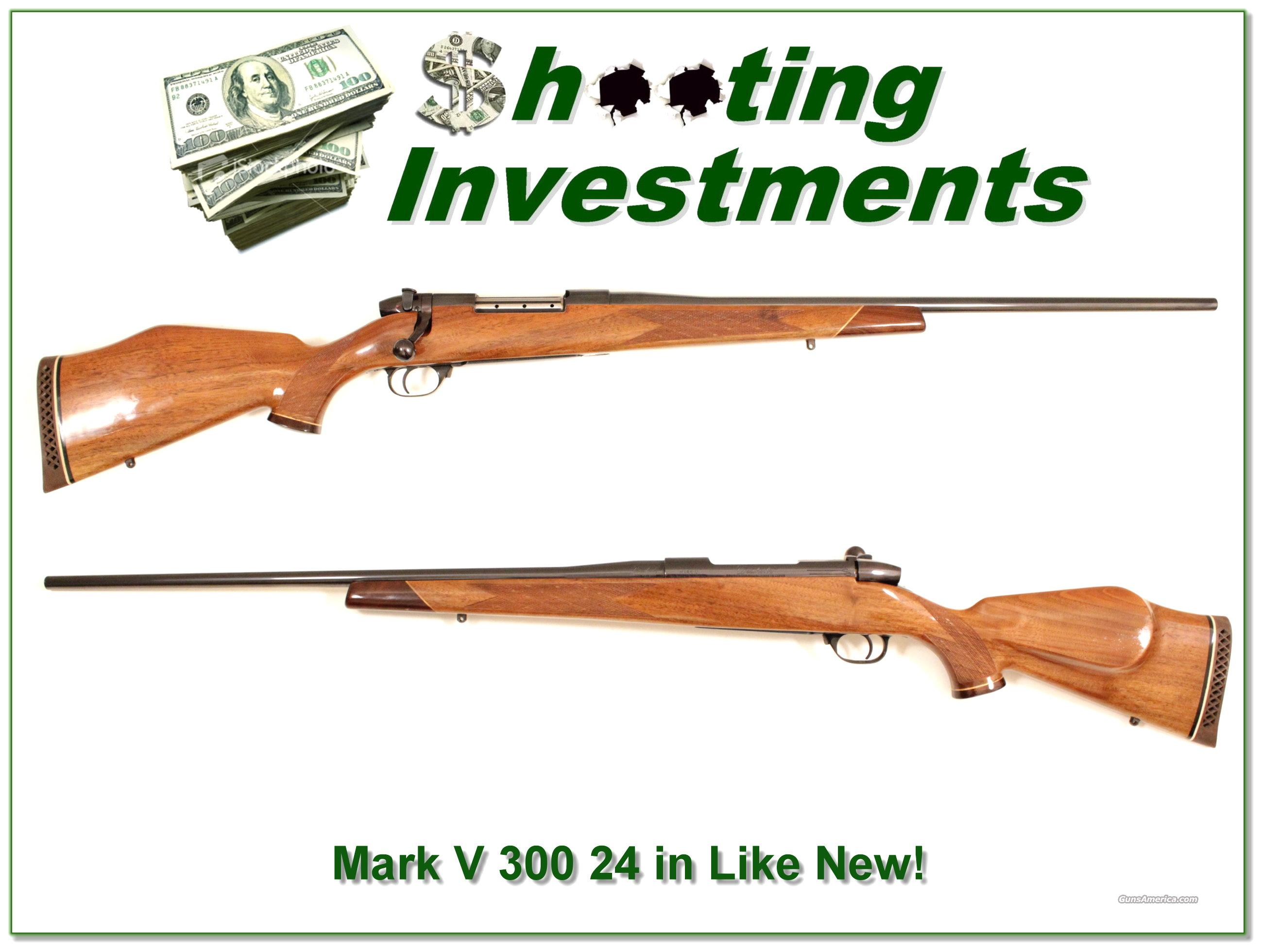 Weatherby Mark V Deluxe 300 Like New  Guns > Rifles > Weatherby Rifles > Sporting