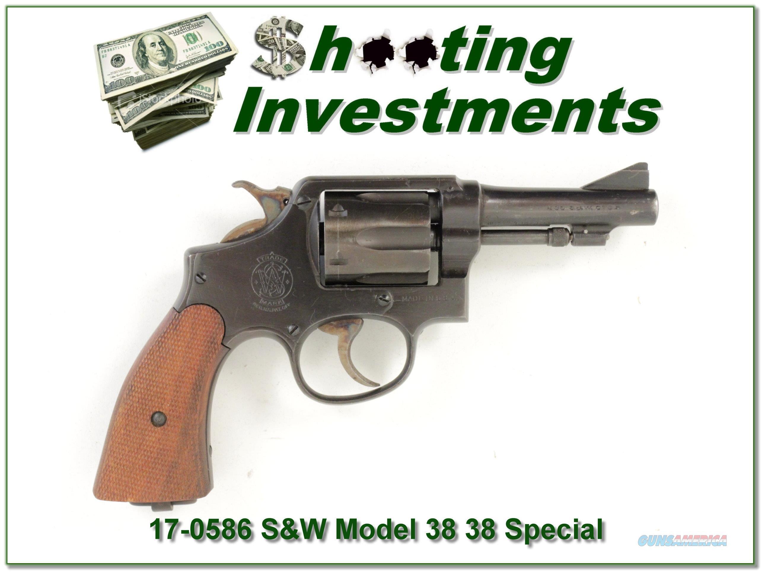 Smith & Wesson Victory 38 / 200 British Service Revolver  Guns > Pistols > Smith & Wesson Revolvers > Full Frame Revolver