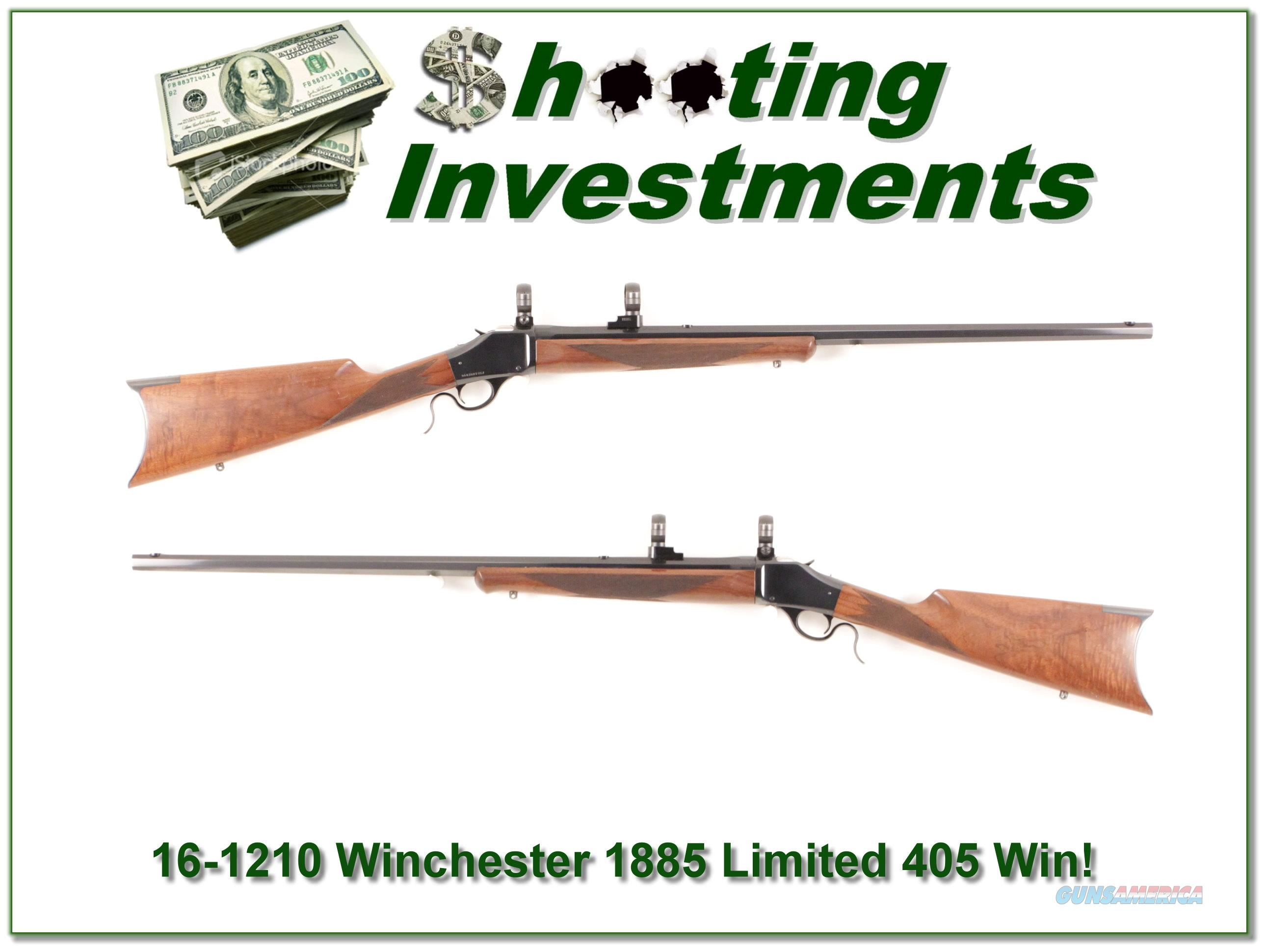 Winchester 1885 Limited Series in 405 Winchester!  Guns > Rifles > Winchester Rifles - Modern Bolt/Auto/Single > Single Shot
