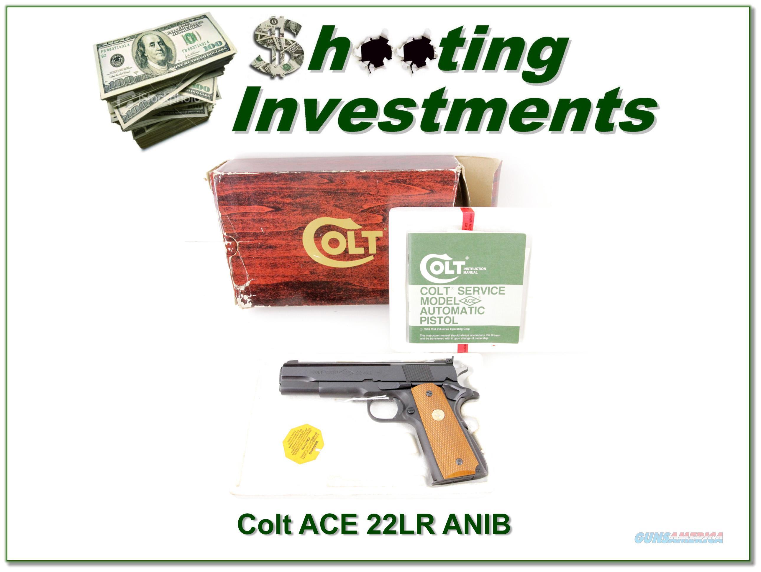 Colt 1911 Service Model ACE 22 LR ANIB  Guns > Pistols > Colt Automatic Pistols (22 Cal.)