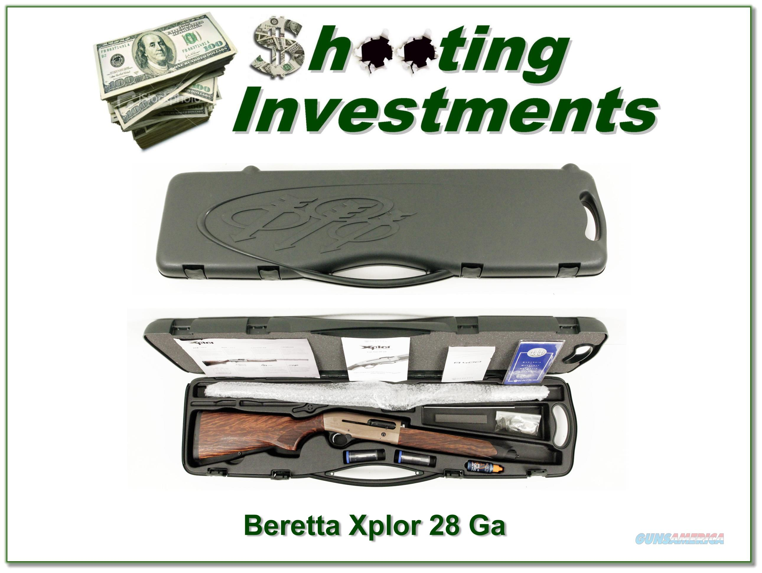 Beretta A400 Xplor 28 Gauge 28in ANIC XX Wood!  Guns > Shotguns > Beretta Shotguns > Autoloaders > Hunting