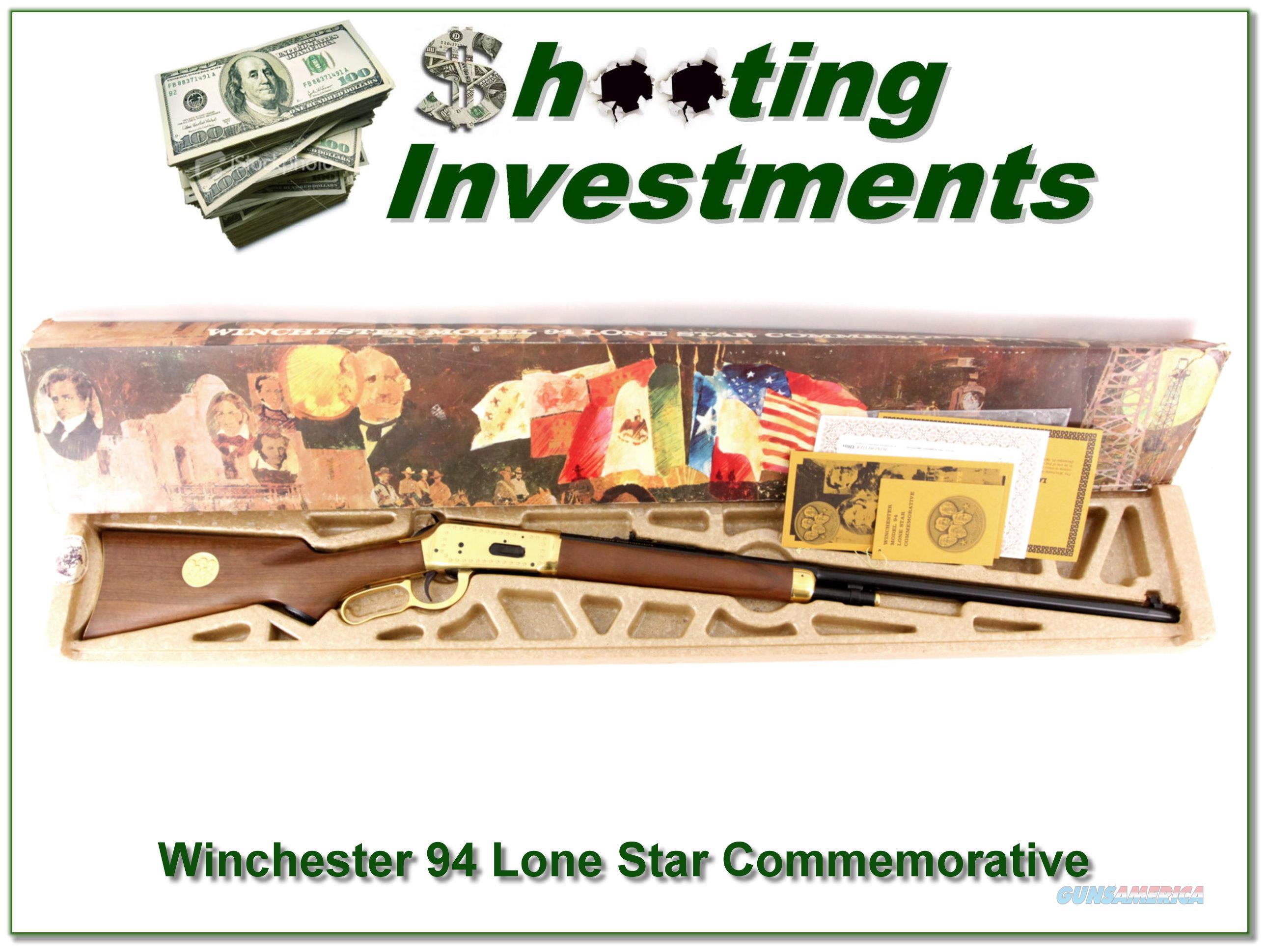 Winchester Lone Star 30-30 26in rifle NIB  Guns > Rifles > Winchester Rifles - Modern Lever > Model 94 > Post-64