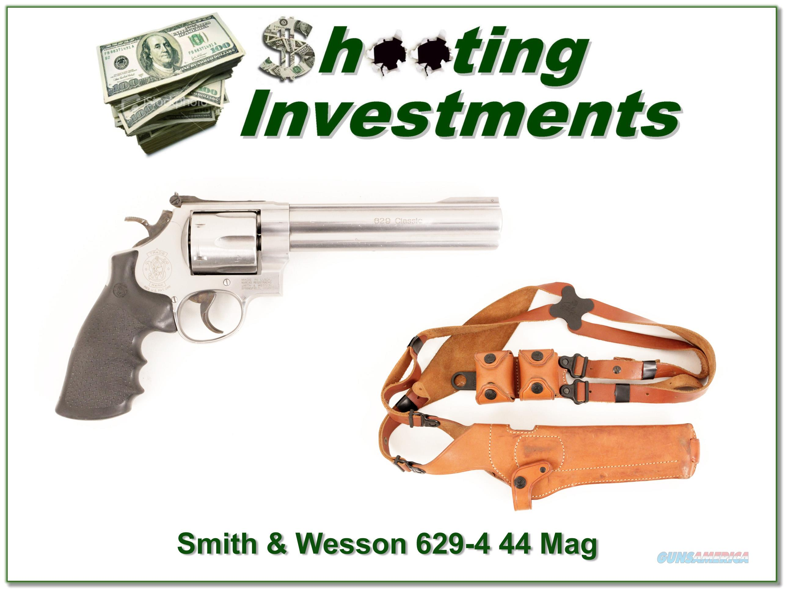 Smith & Wesson Model 629-4 44 Magnum 6.5in Stainless  Guns > Pistols > Smith & Wesson Revolvers > Model 629