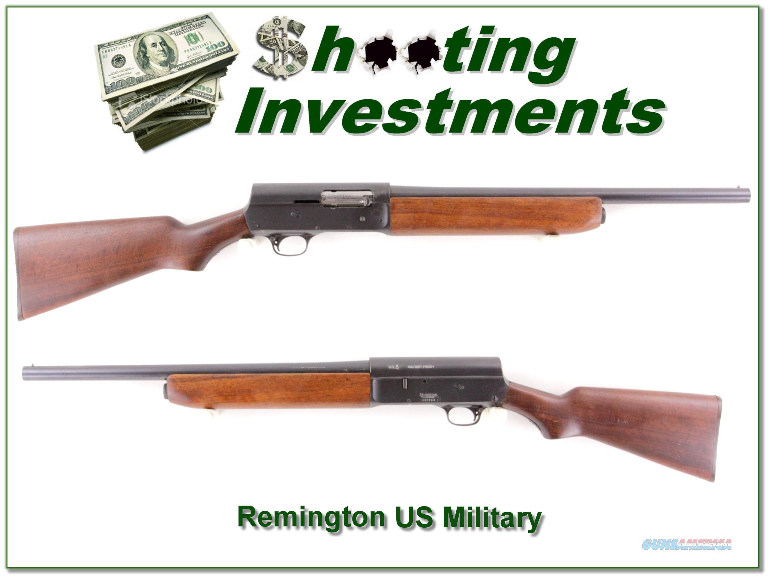 Remington Model 11 Army air corps trainer shotgun  Guns > Shotguns > Remington Shotguns  > Autoloaders > Tactical