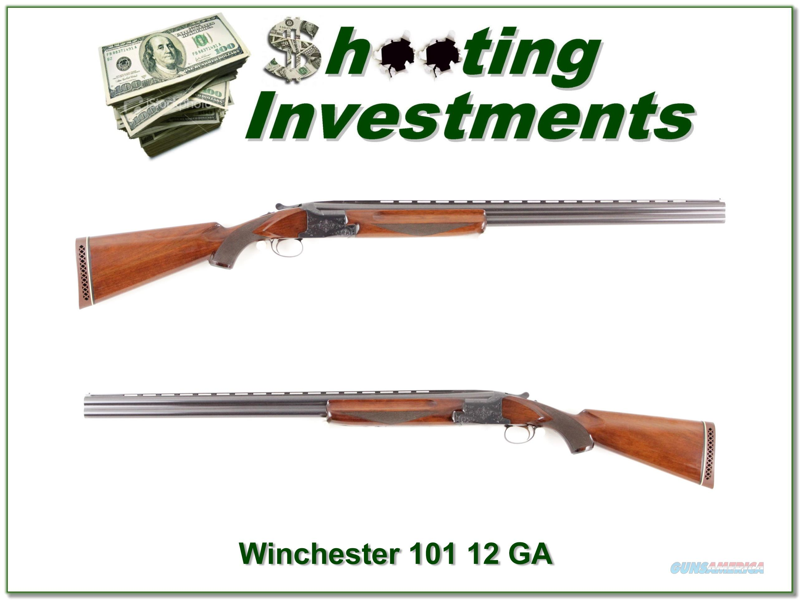 Winchester 101 12 Gauge SxS 30in Exc Cond  Guns > Shotguns > Winchester Shotguns - Modern > O/U > Hunting