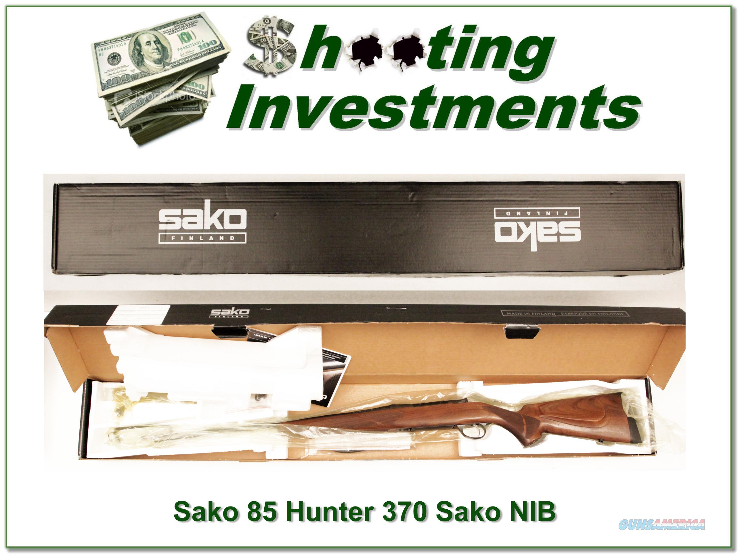 Sako 85 Hunter 370 Sako magnum 9.3X66 NIB!  Guns > Rifles > Sako Rifles > M85 Series
