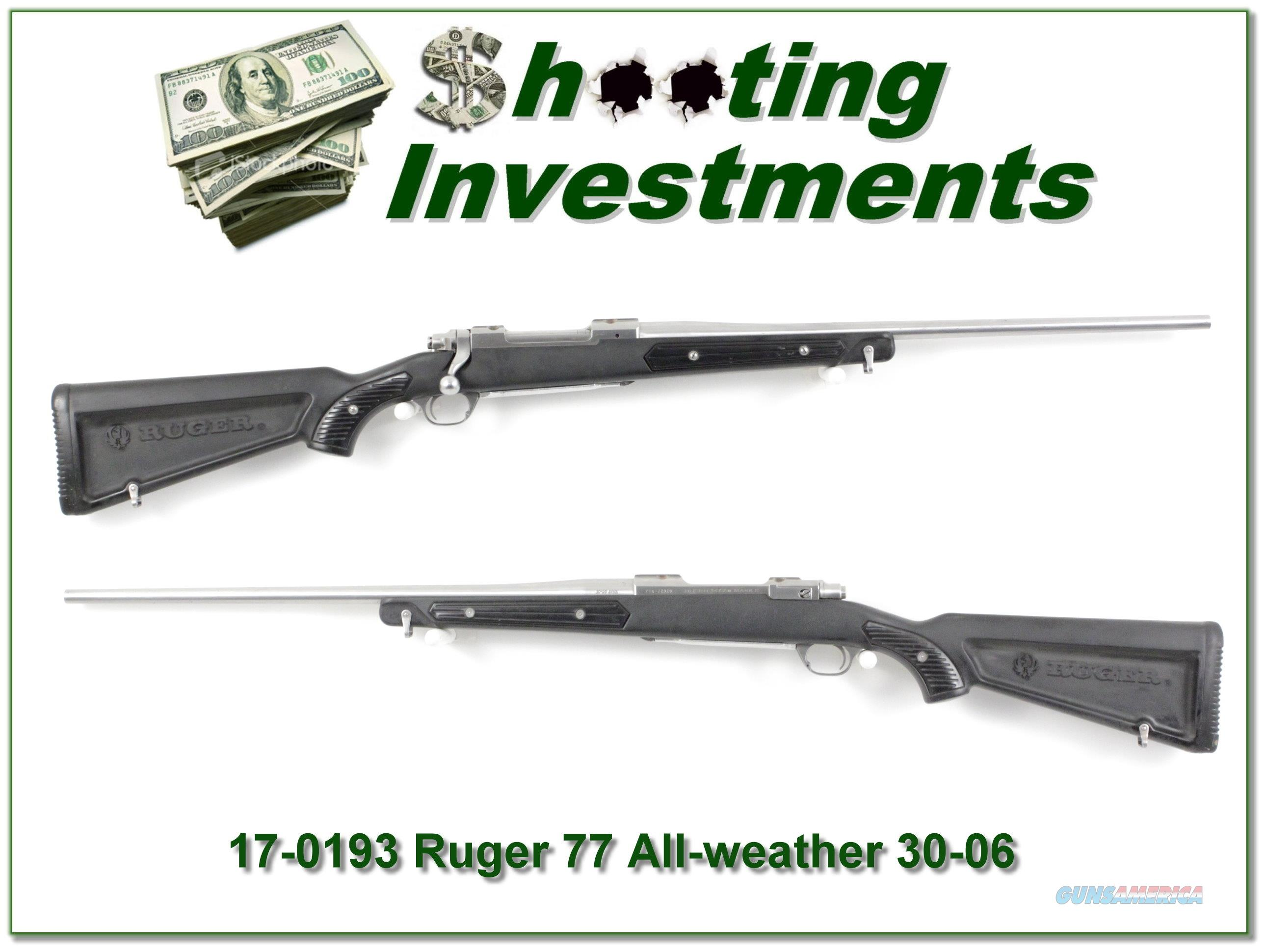 "Ruger Mark II Stainless ""Skeleton"" 30-06  Guns > Rifles > Ruger Rifles > Lever Action"