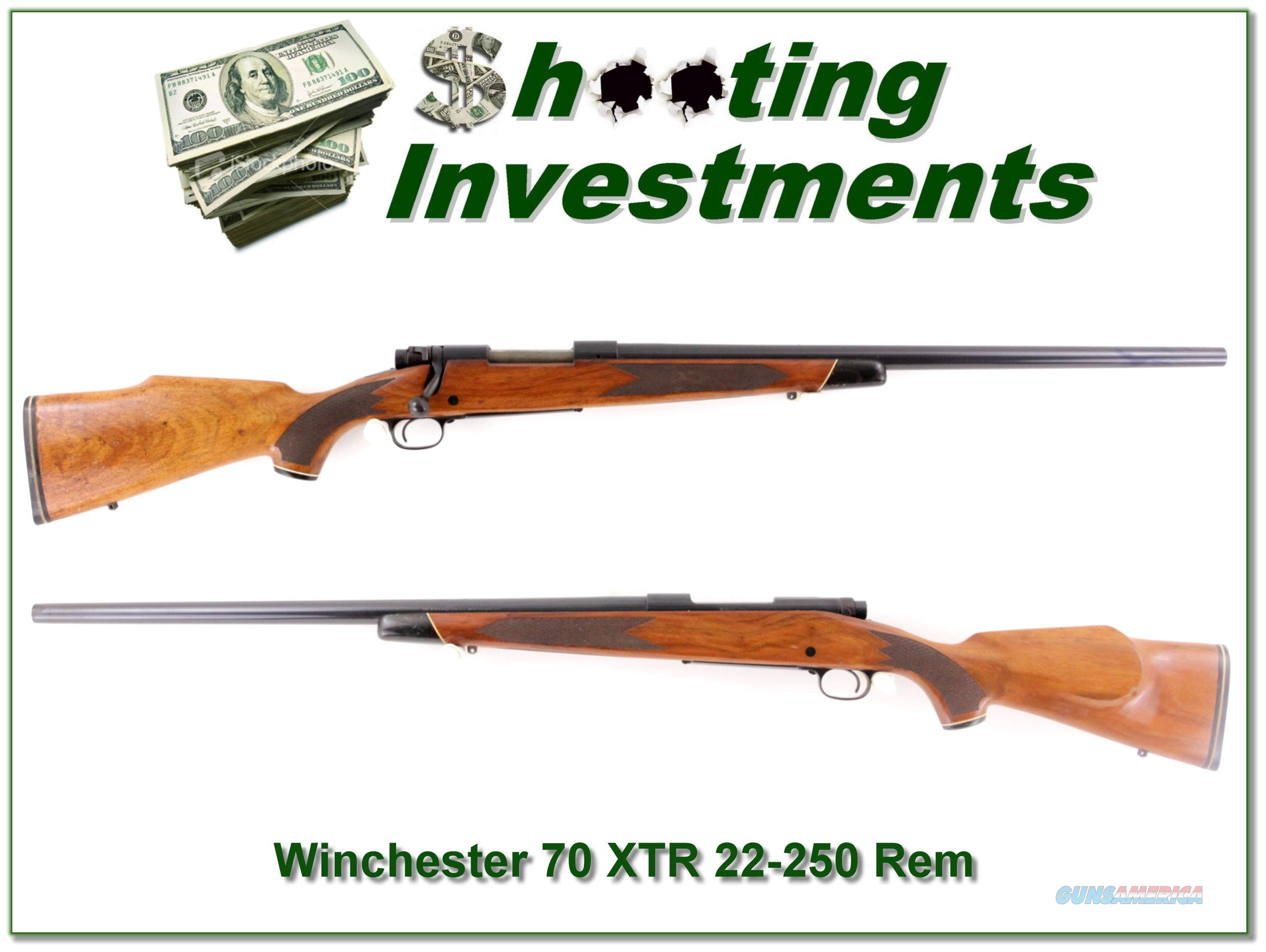 Winchester Model 70 XTR 22-250 Varmint!  Guns > Rifles > Winchester Rifles - Modern Bolt/Auto/Single > Model 70 > Post-64