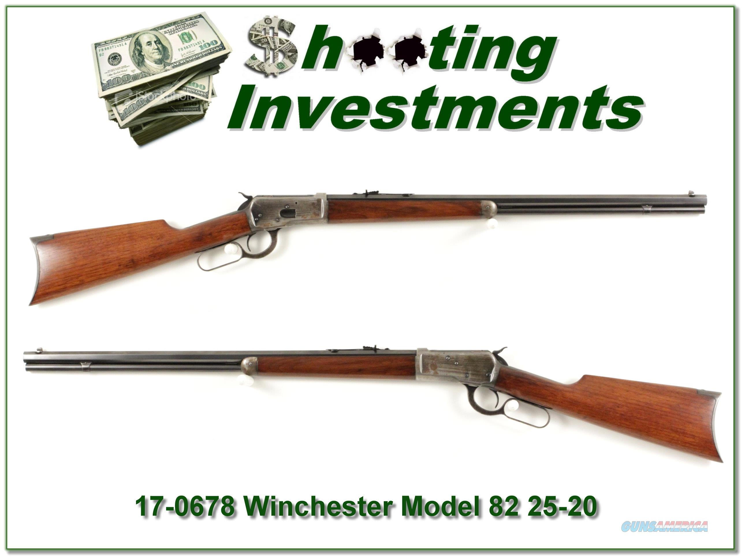 Winchester Model 92 in 25-20 WCF made in 1922  Guns > Rifles > Winchester Rifles - Modern Lever > Other Lever > Pre-64