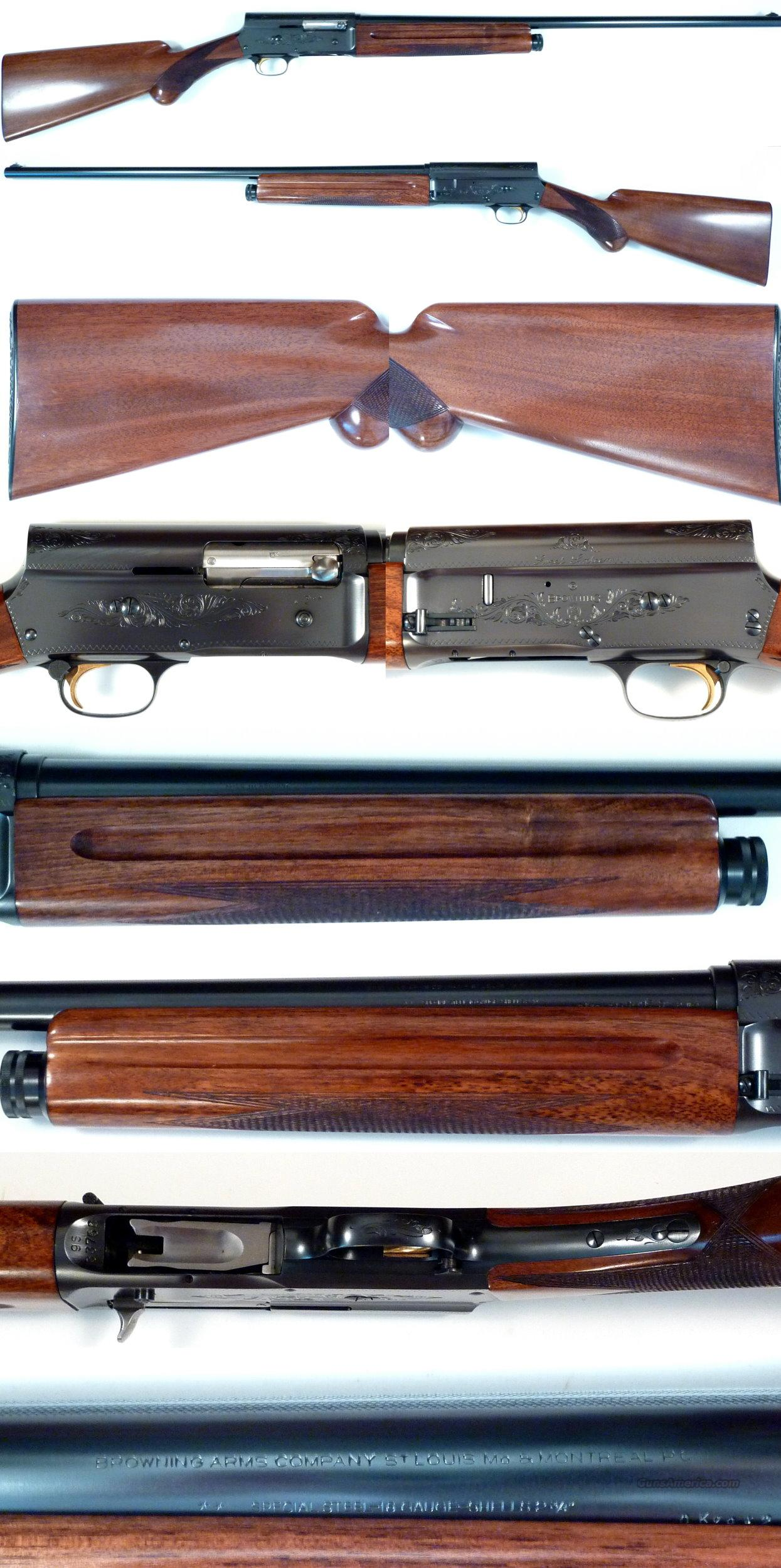 1959 Belgium Browning A5 Sweet 16 in top collector condition  Guns > Shotguns > Browning Shotguns > Autoloaders > Hunting