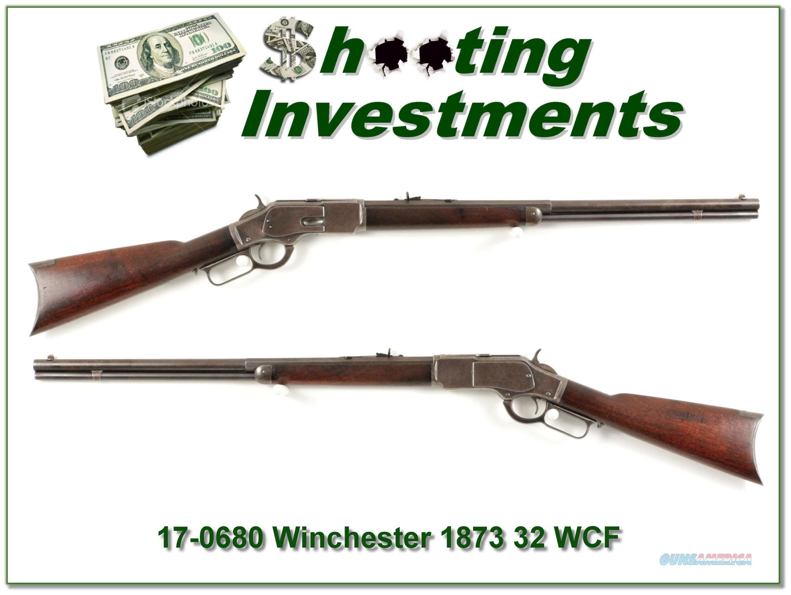 Winchester 1873 in 32 WCF made in 1902  Guns > Rifles > Winchester Rifles - Modern Lever > Other Lever > Pre-64