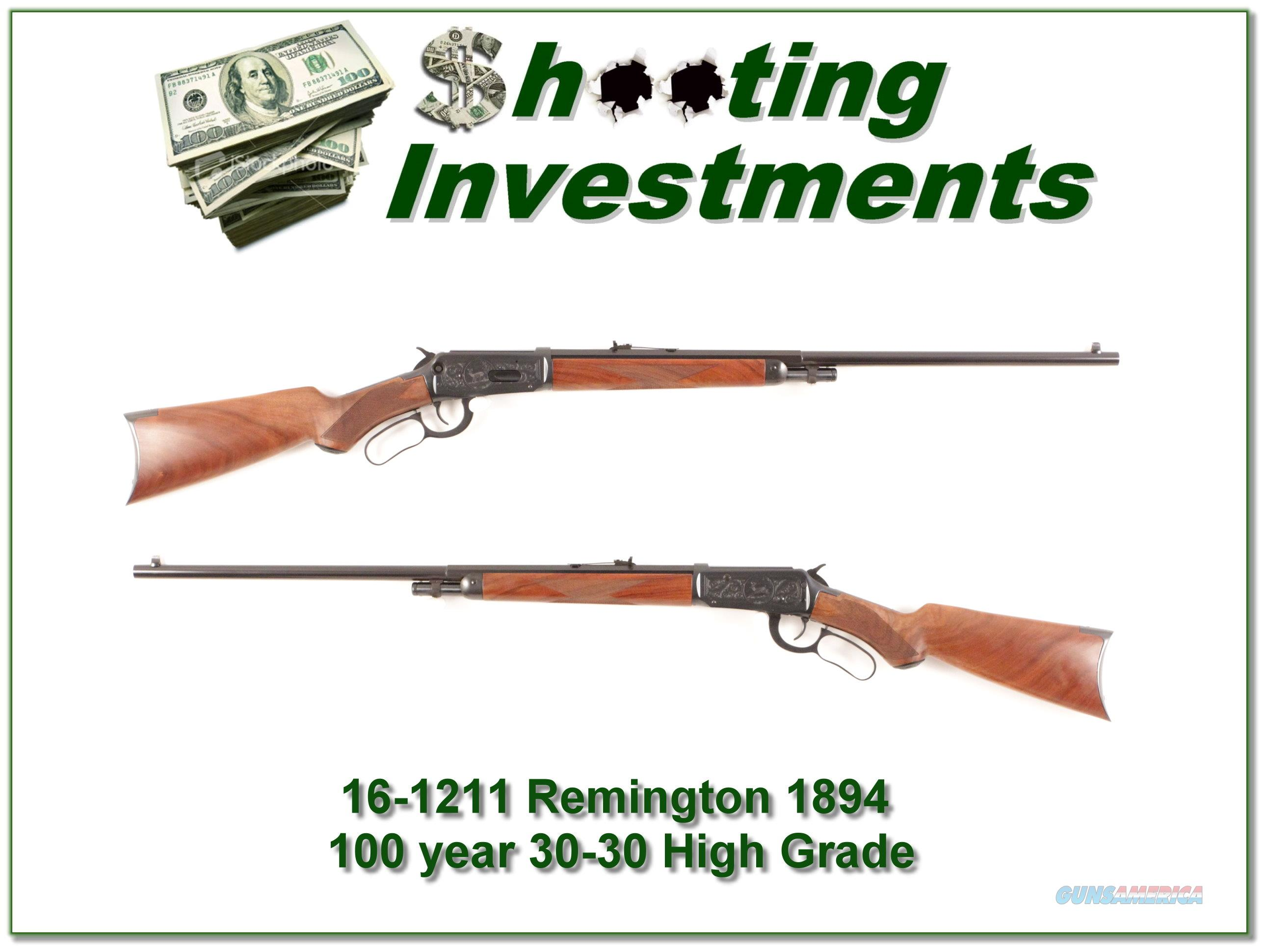 Winchester 1894 Rifle High Grade XX Wood as new!  Guns > Rifles > Winchester Rifles - Modern Lever > Model 94 > Post-64