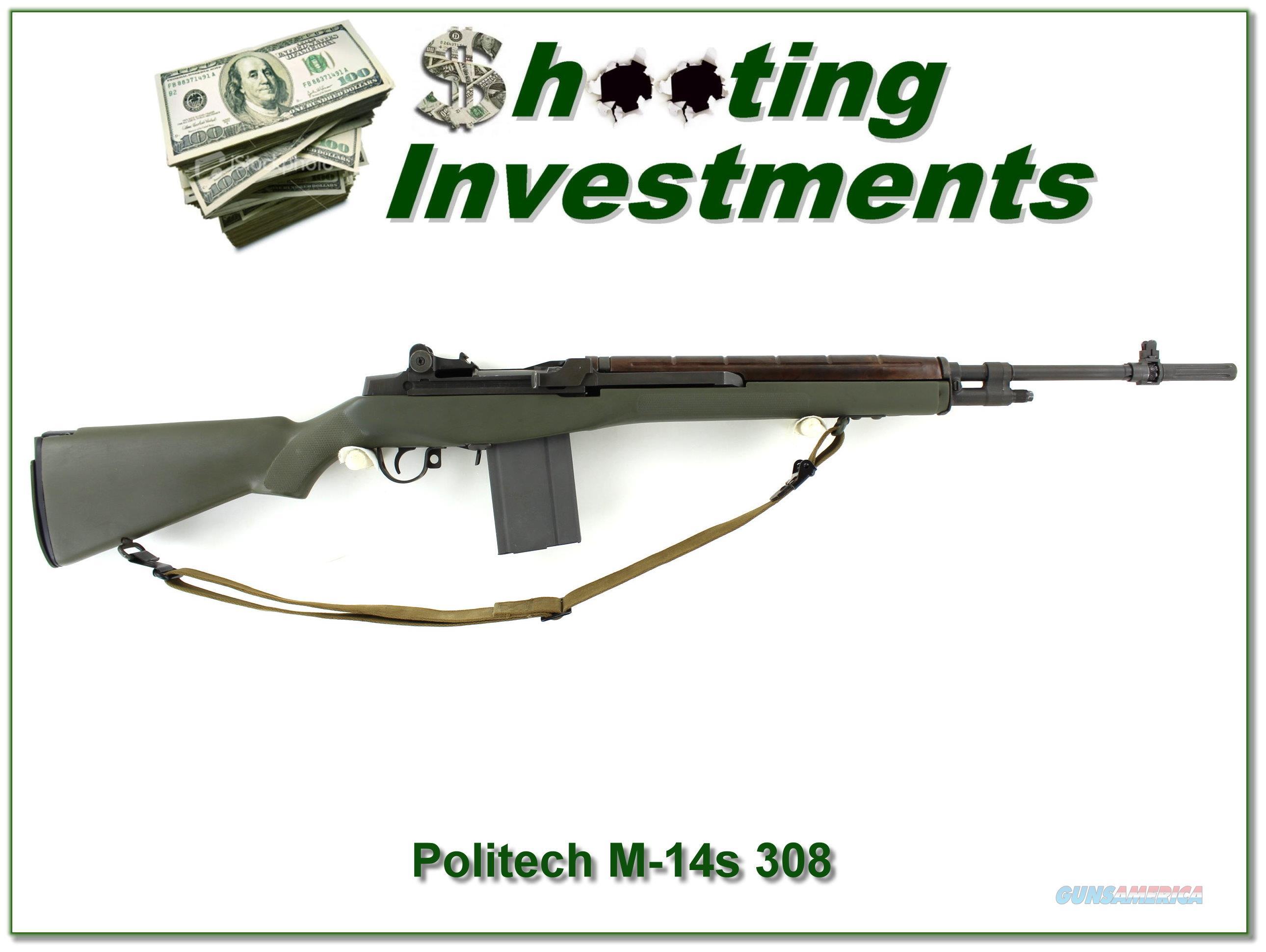 Polytech M14-S in .308 3 stocks 5 Magazines  Guns > Rifles > PQ Misc Rifles