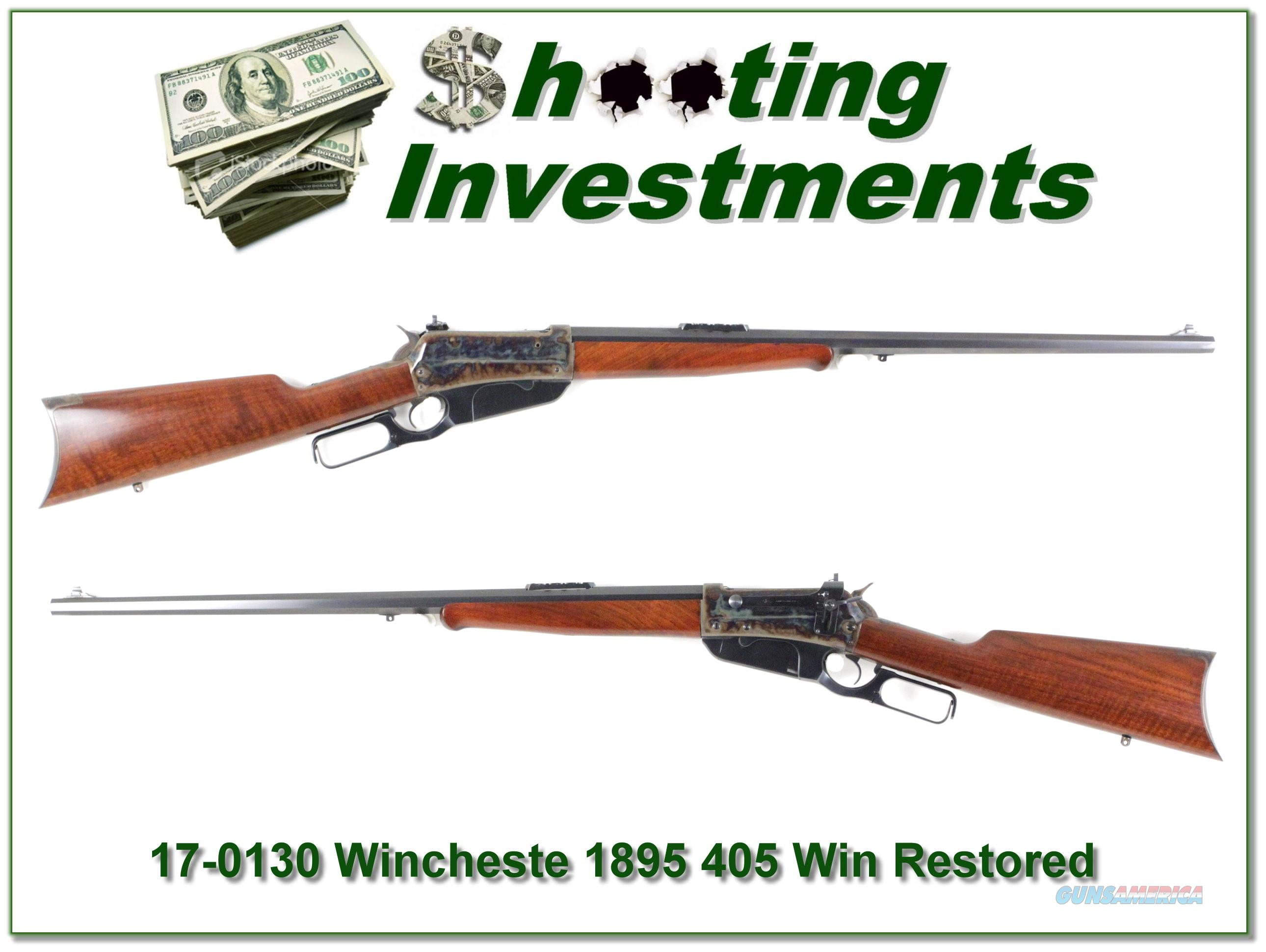 Winchester 1895 405 WCF made in 1903 Turnbull restored!  Guns > Rifles > Winchester Rifles - Modern Lever > Other Lever > Pre-64