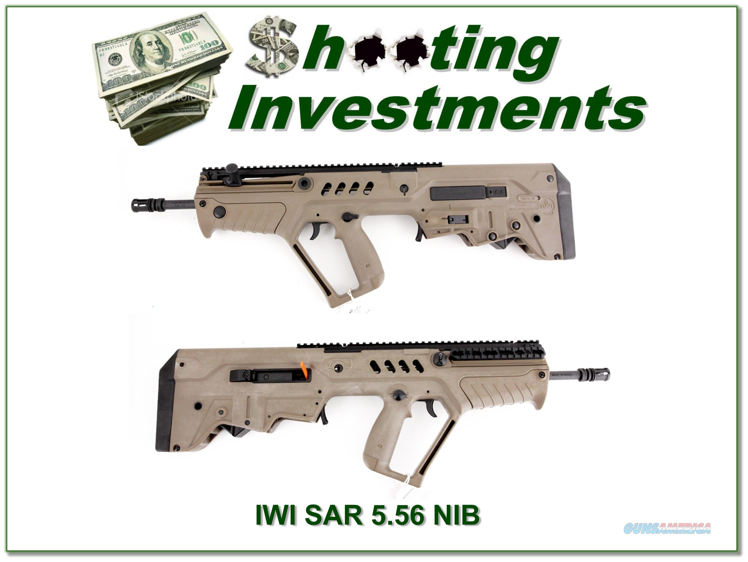IWI Tavor SAR-FD16 223 Remington NIB  Guns > Rifles > IWI Rifles