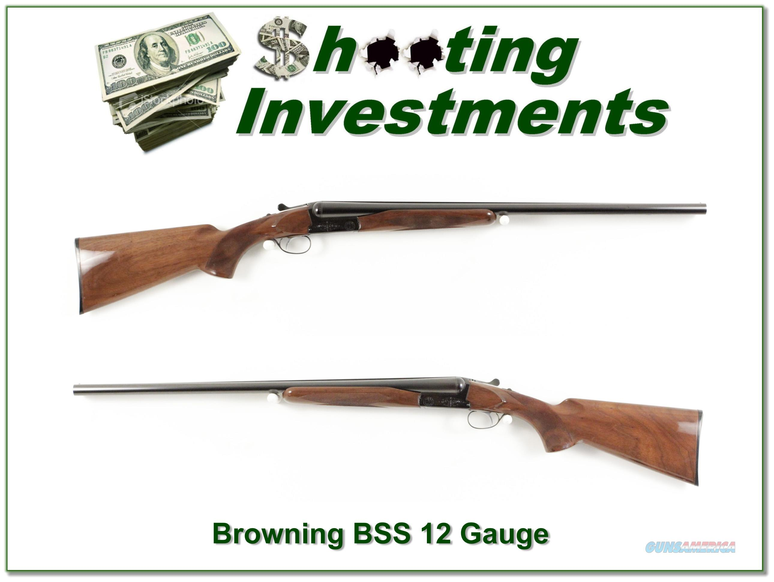 Browning BSS 12 Ga early 1972 production looks unfired!  Guns > Shotguns > Browning Shotguns > Side by Sides
