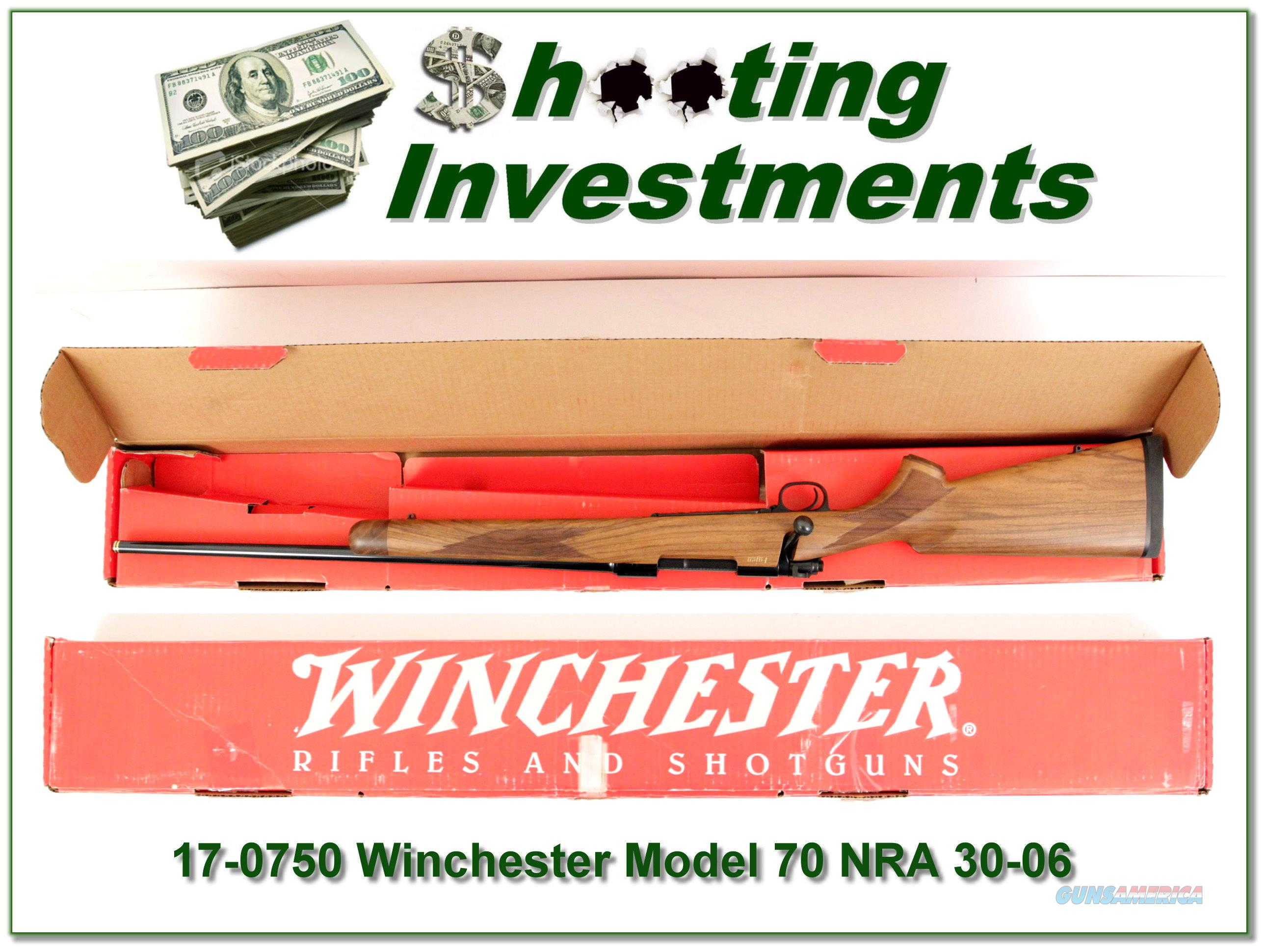 Winchester 70 Classic featherweight NRA Fajen NIB 30-06  Guns > Rifles > Winchester Rifles - Modern Bolt/Auto/Single > Model 70 > Post-64