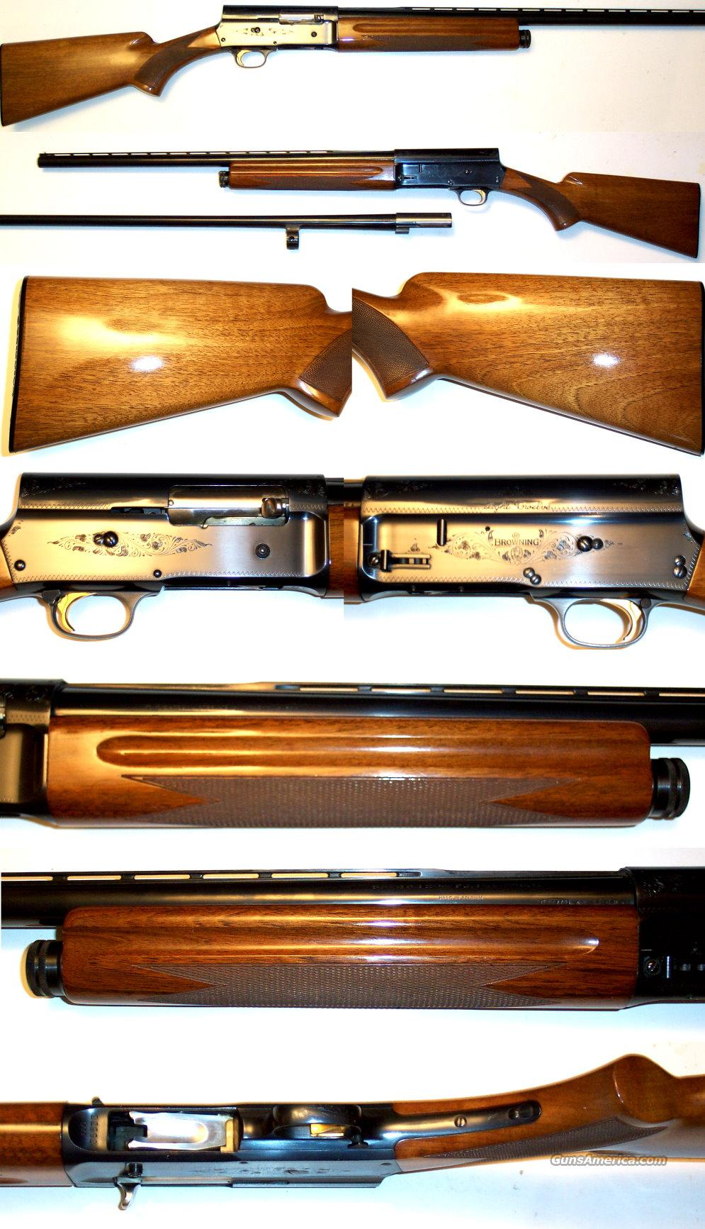 '68 Belgium A5 Light 12 with 2 barrels. Near new condition  Guns > Shotguns > Browning Shotguns > Autoloaders > Hunting