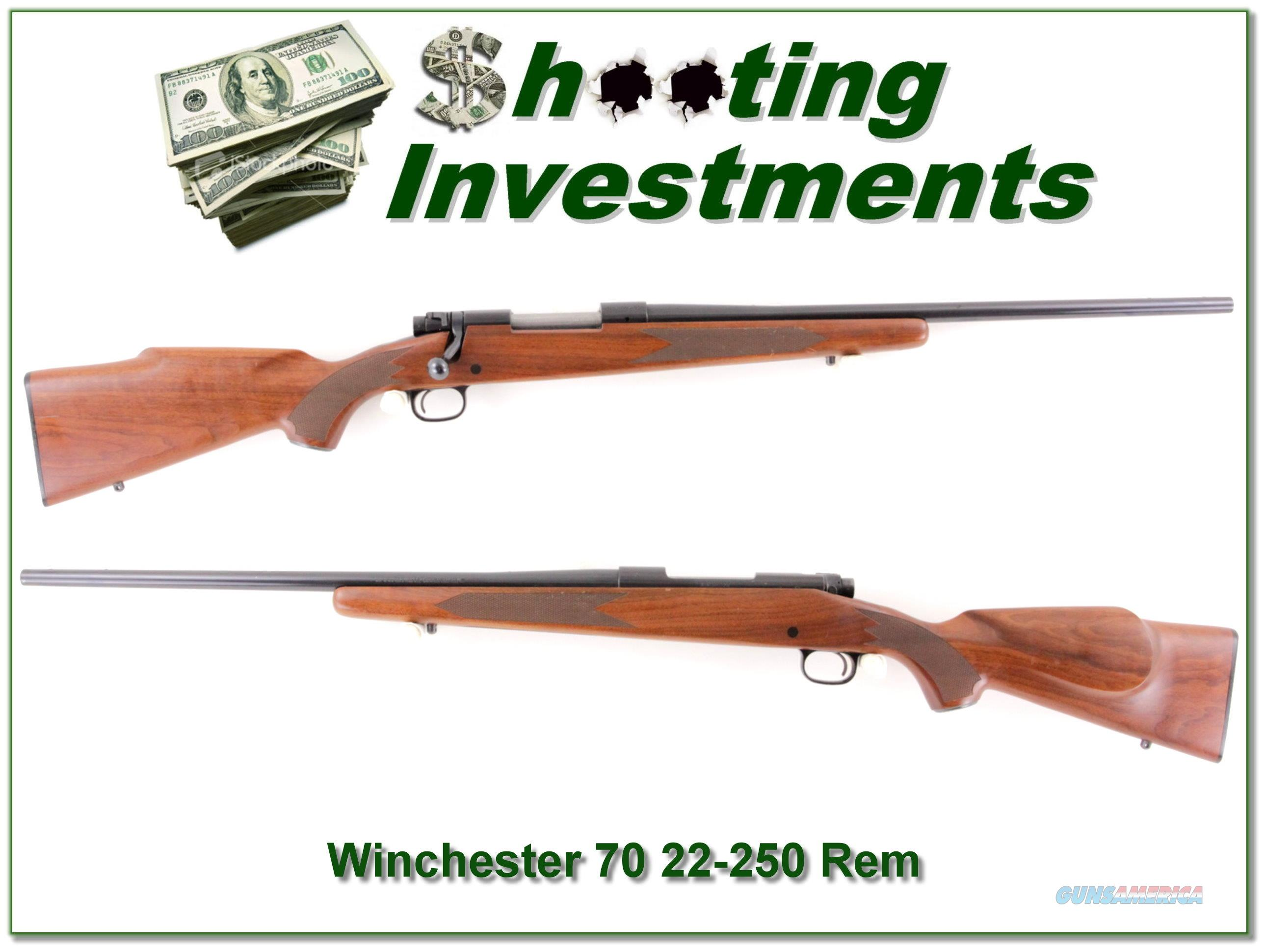 Winchester Model 70 in 22-250 Remington  Guns > Rifles > Winchester Rifles - Modern Bolt/Auto/Single > Model 70 > Post-64