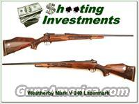 Weatherby Mark V 240 5 Panel Lazermark  Guns > Rifles > Weatherby Rifles > Sporting