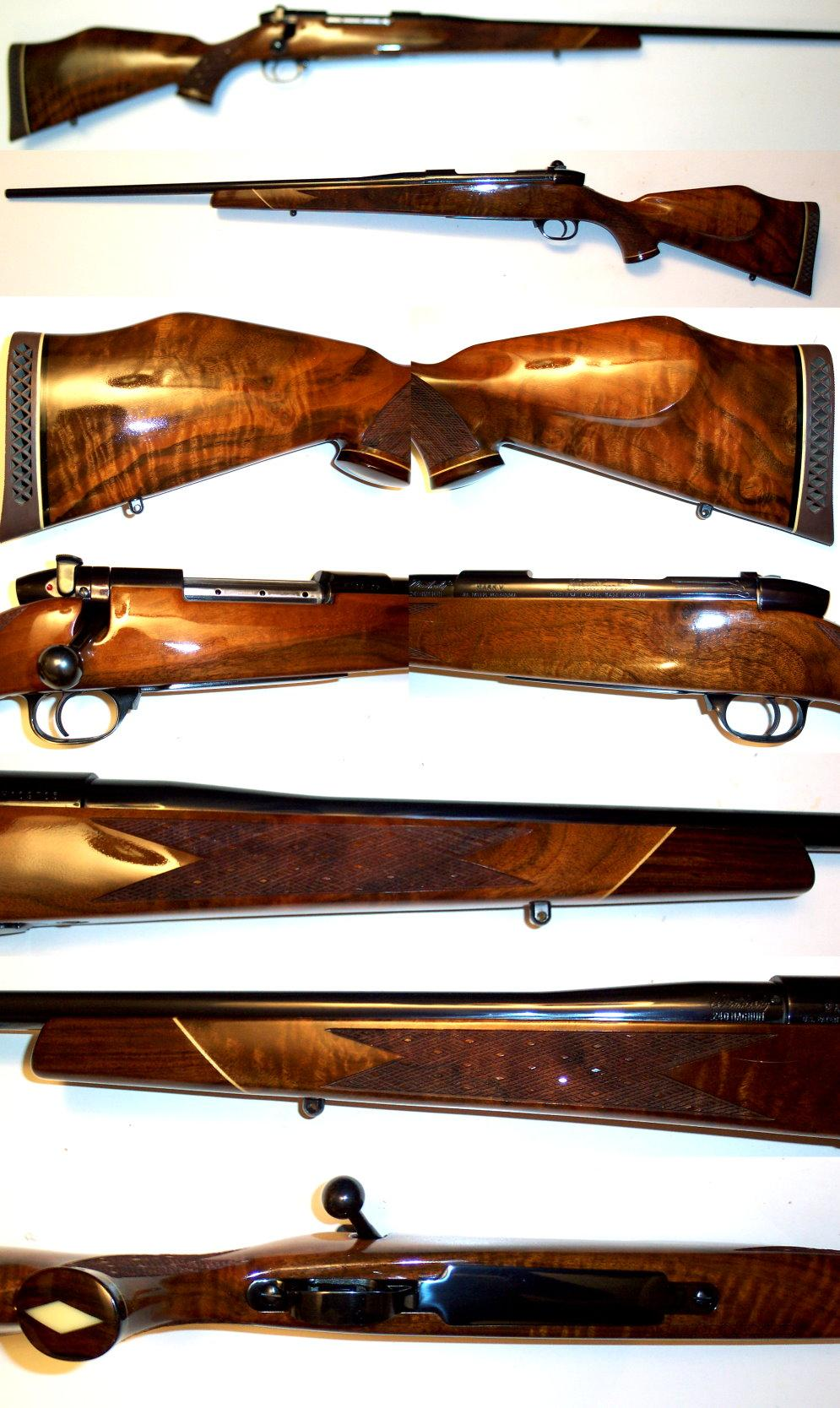 Weatherby Mark V Deluxe 240 w/ exceptional wood  Guns > Rifles > Weatherby Rifles > Sporting